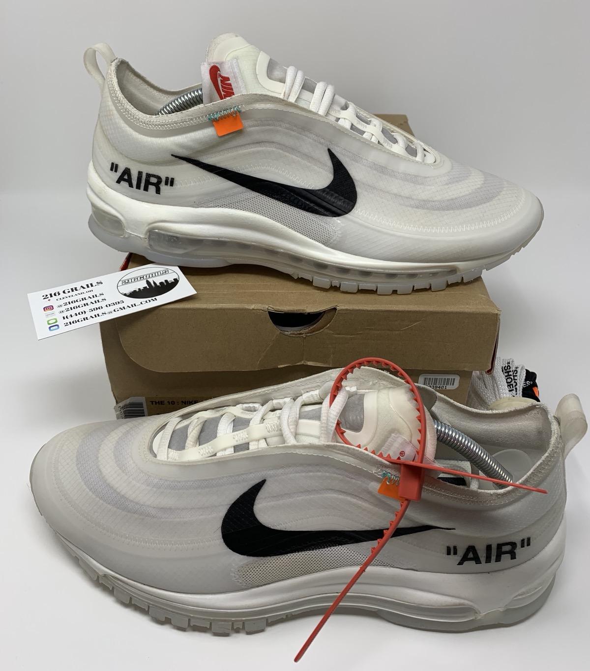 Nike x Off White Air Max 97 WhiteBlack | Sneaker Grails