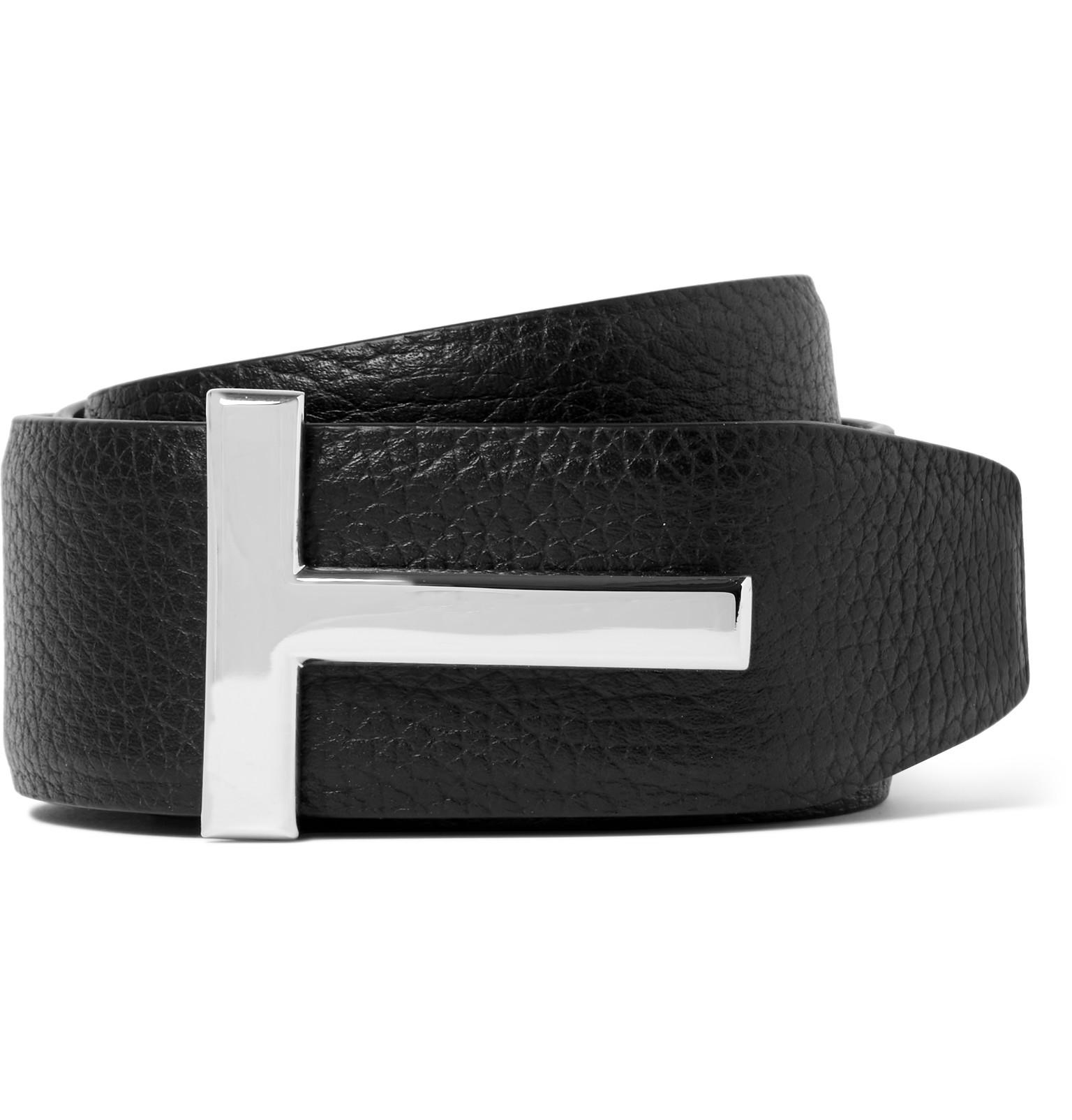 ca7de98f7 Tom Ford Tom Ford Black T Icon Belt | Grailed