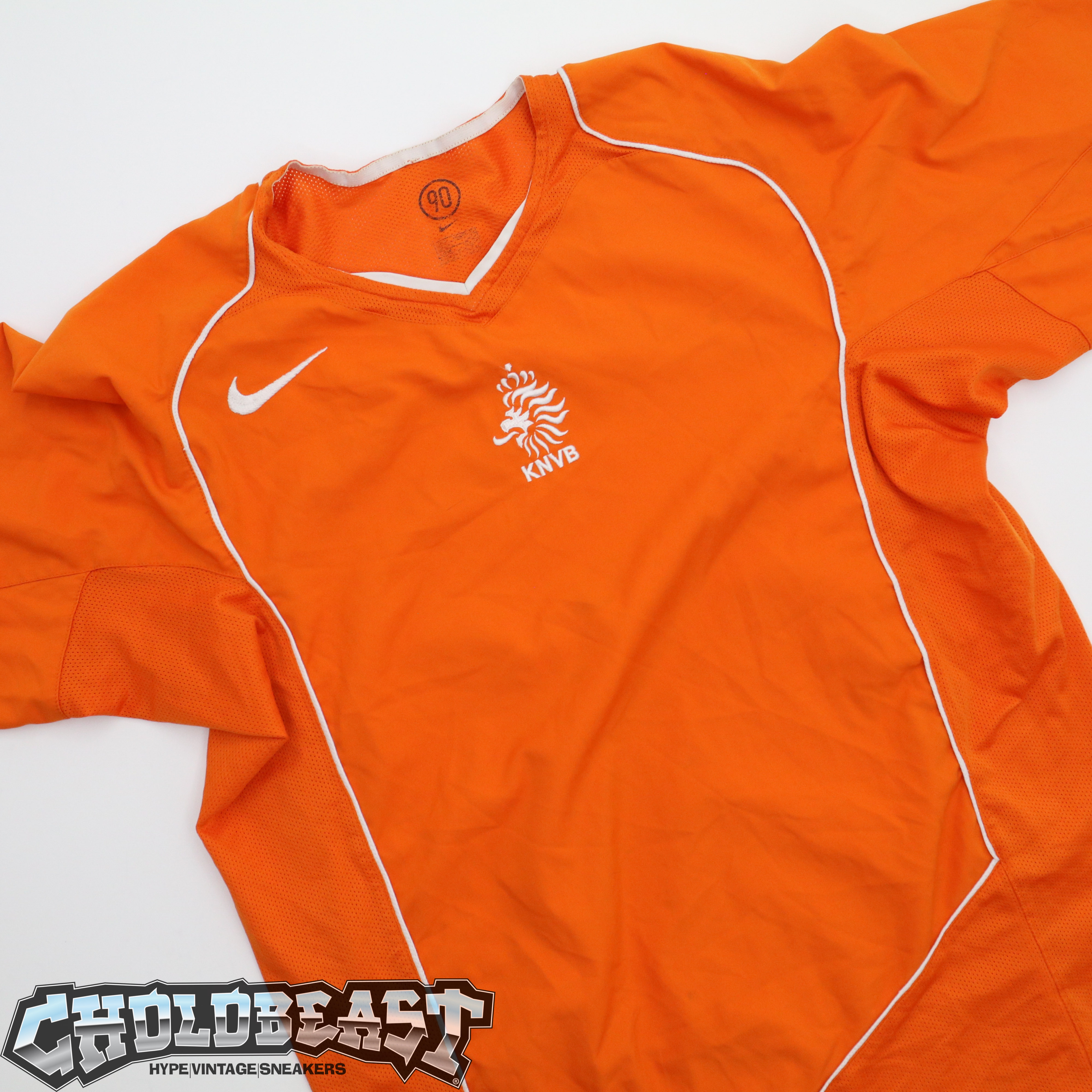 official photos 3e846 11c36 Nike Netherlands 2004 2006 Home Jersey World Cup Fifa Futbol Soccer Jersey