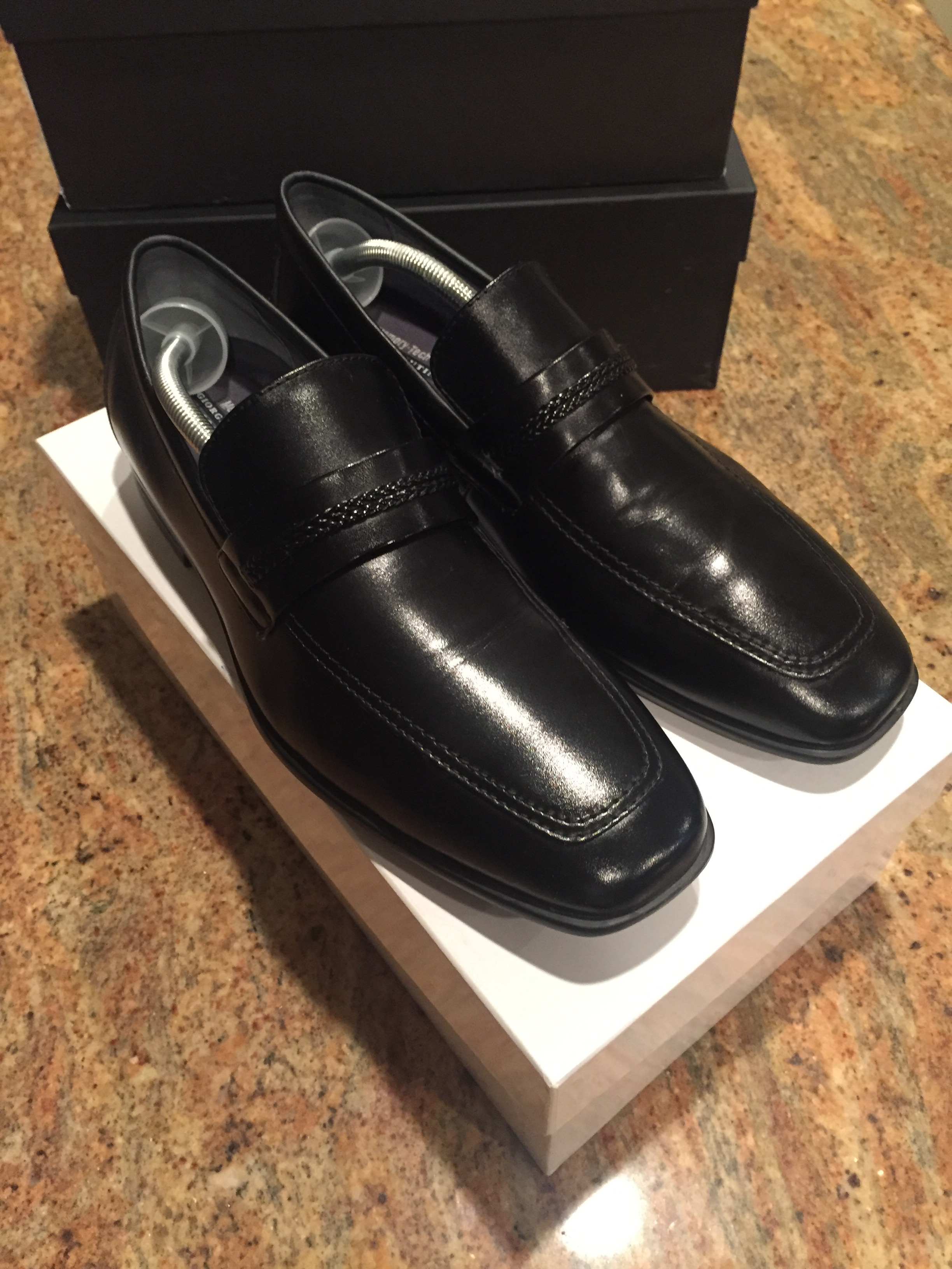 f524557e1d1 Giorgio Brutini NEW Giorgio Brutini Men s Liston 176121 Dressy Black Loafers  Shoes Size 11 - Formal Shoes for Sale - Grailed