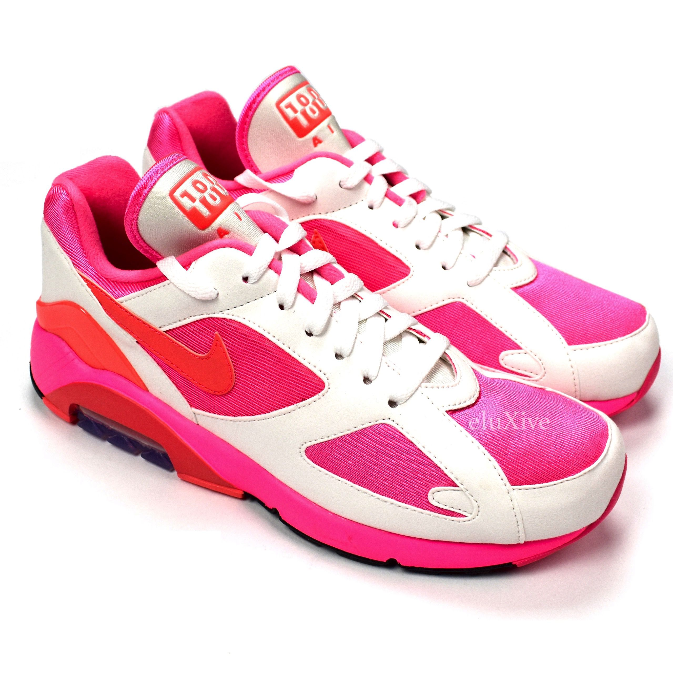 nouveau style 70bf9 c3e97 CDG Air Max 180 White Pink DS