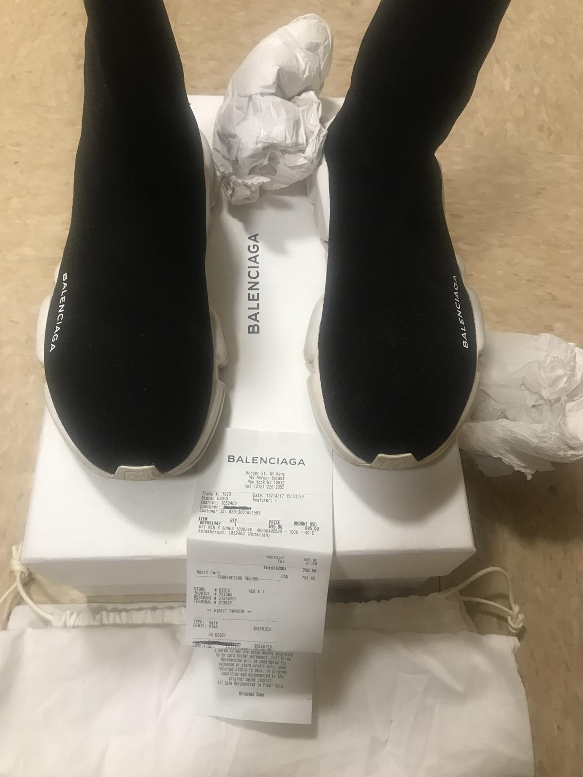 d065ef7994086 Balenciaga Balenciaga Speed Trainer Size 8 - Boots for Sale - Grailed