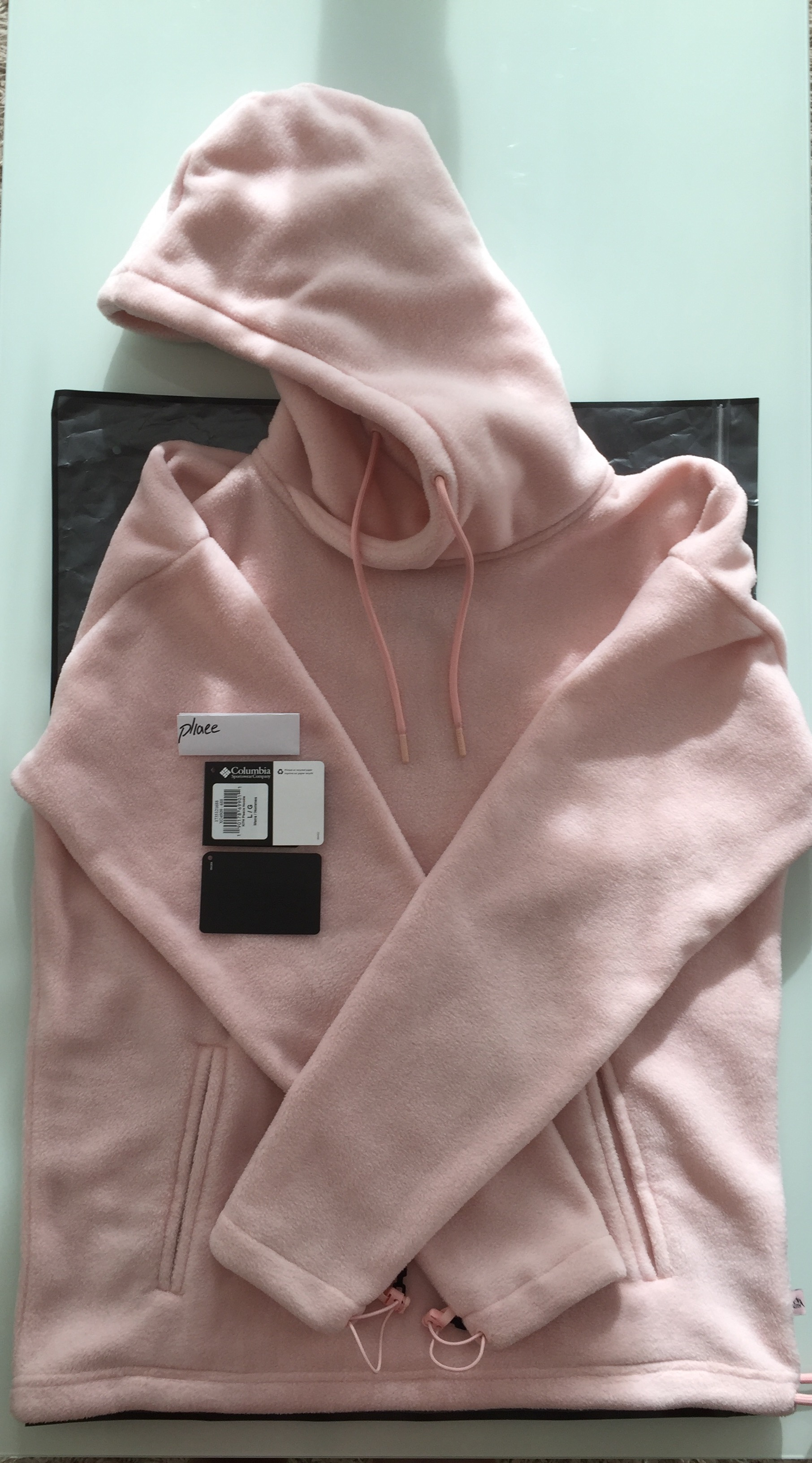 2e59206b Kith Nyc × Columbia ×. Kith Aspen x Columbia Sportswear Core Fleece Hoodie  Vintage Pink. Size: US L / EU 52-54 ...