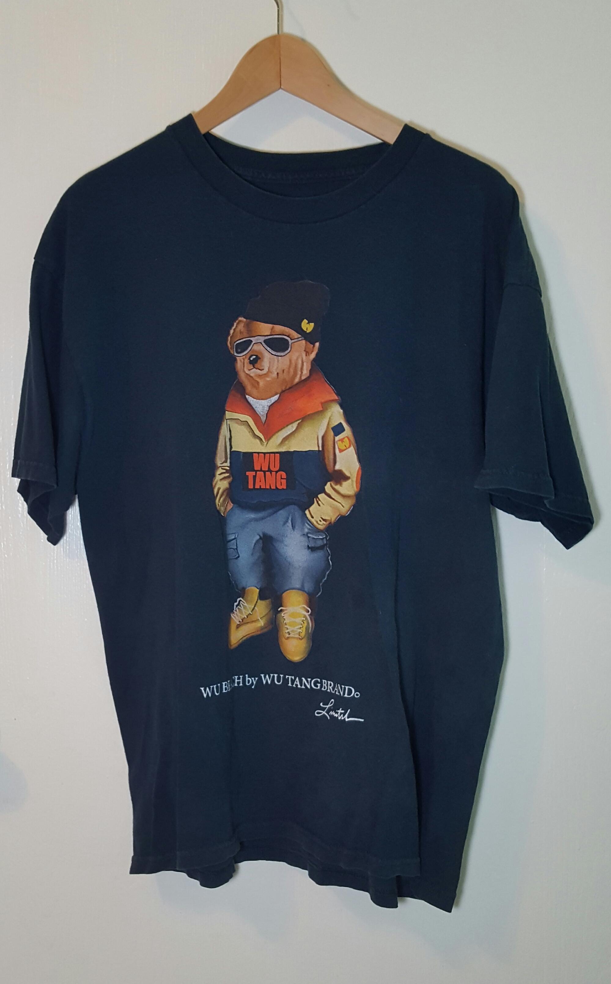 804de19dd8a Wu Tang Clan Wu Bear Graphic Tee Mens XL Size xl - Short Sleeve T-Shirts  for Sale - Grailed