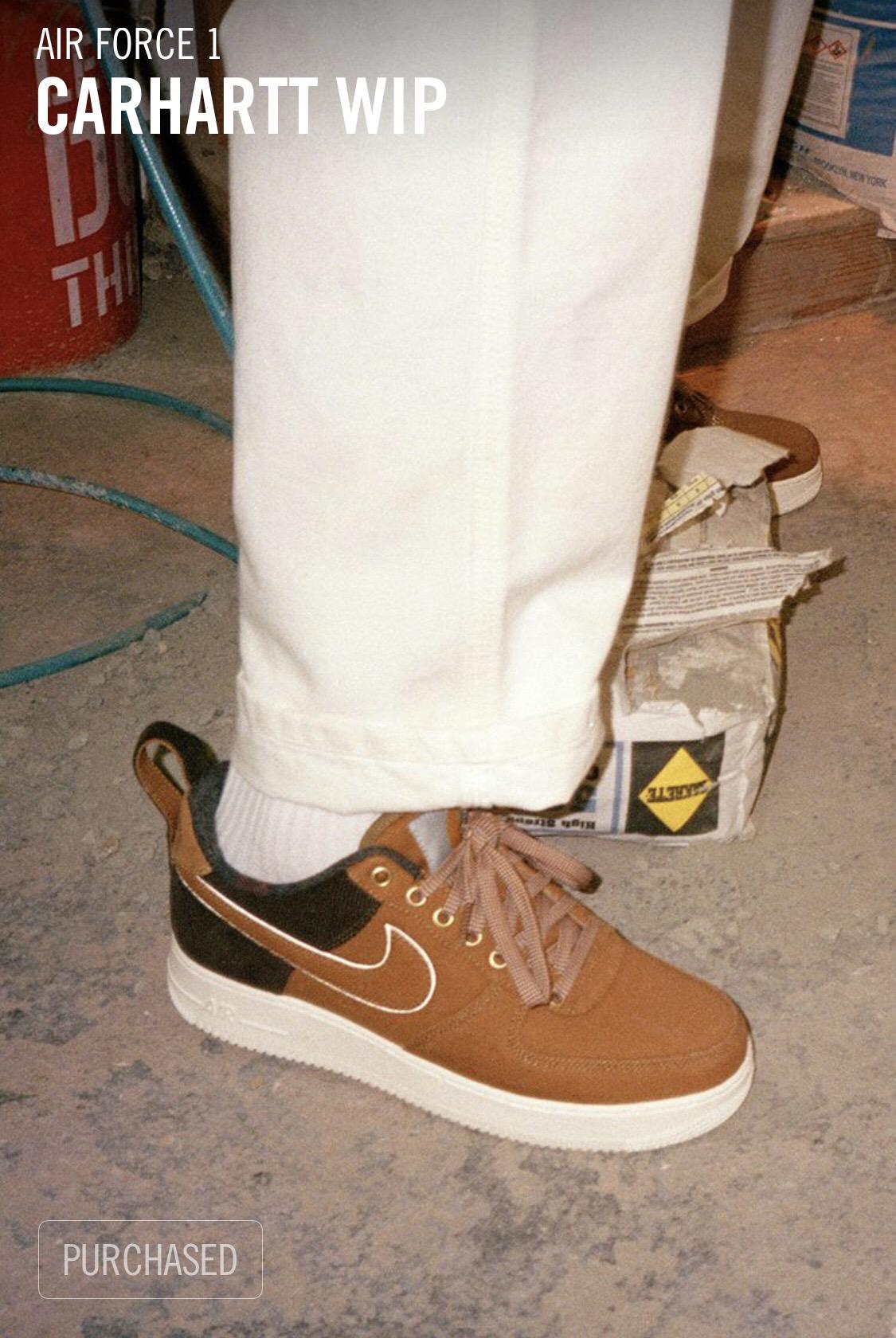 Nike Air Force 1 Carhartt WIP