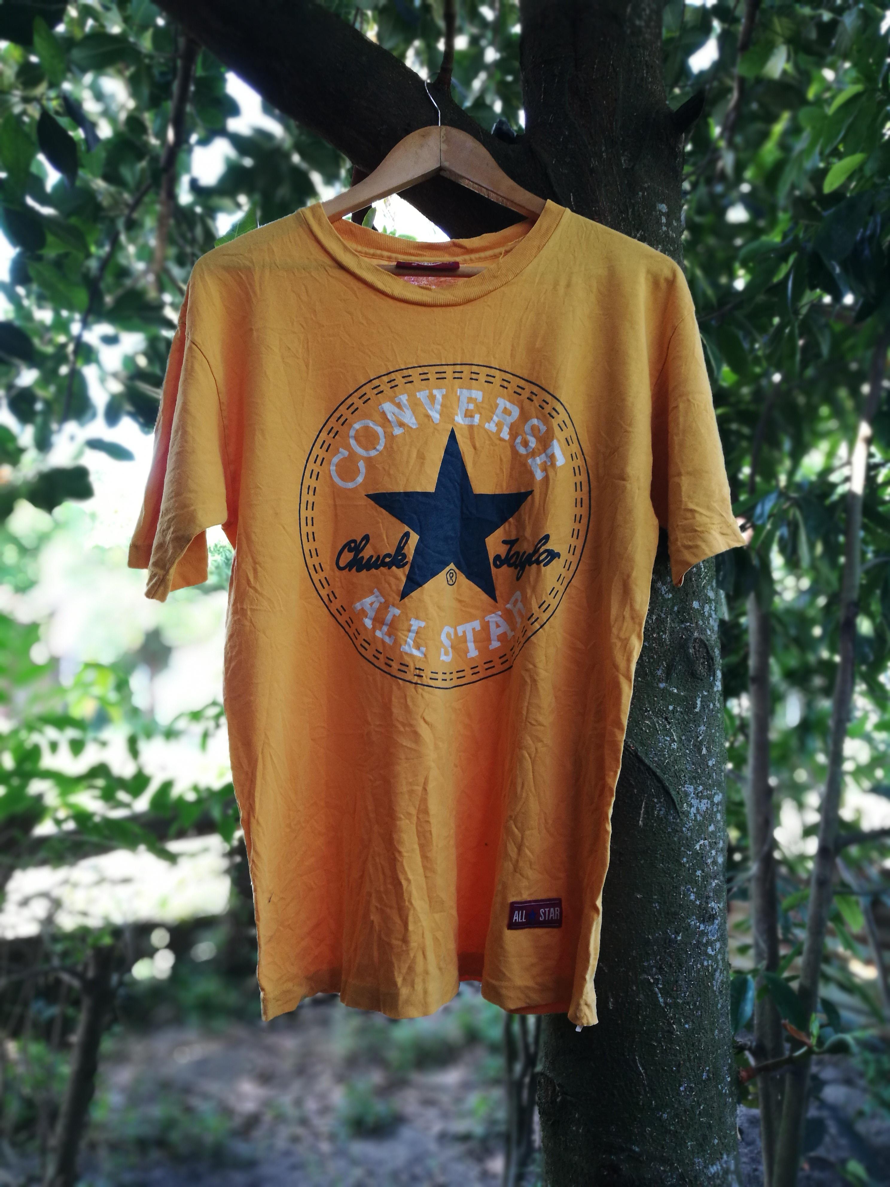 Converse Vintage Converse Chuck Taylor All Star big logo Dennis Rodman Made  in USA Size m - Short Sleeve T-Shirts for Sale - Grailed 514edbc8d