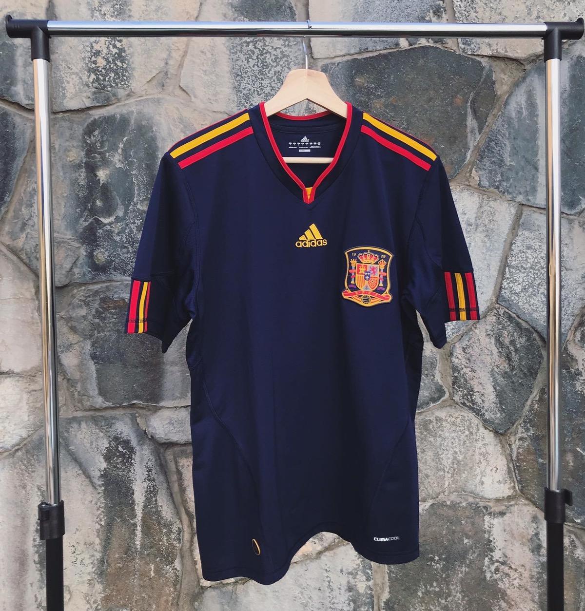 Adidas 2010 Spain World Champions Away Jersey