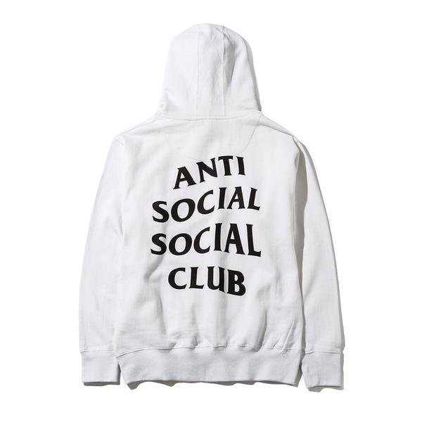 97fd63e63b94 Antisocial Social Club ✅ New Anti social social club masochism Hoodie ASSC  logo white black sz XL supreme bape bogo Size xl - Sweatshirts   Hoodies  for ...