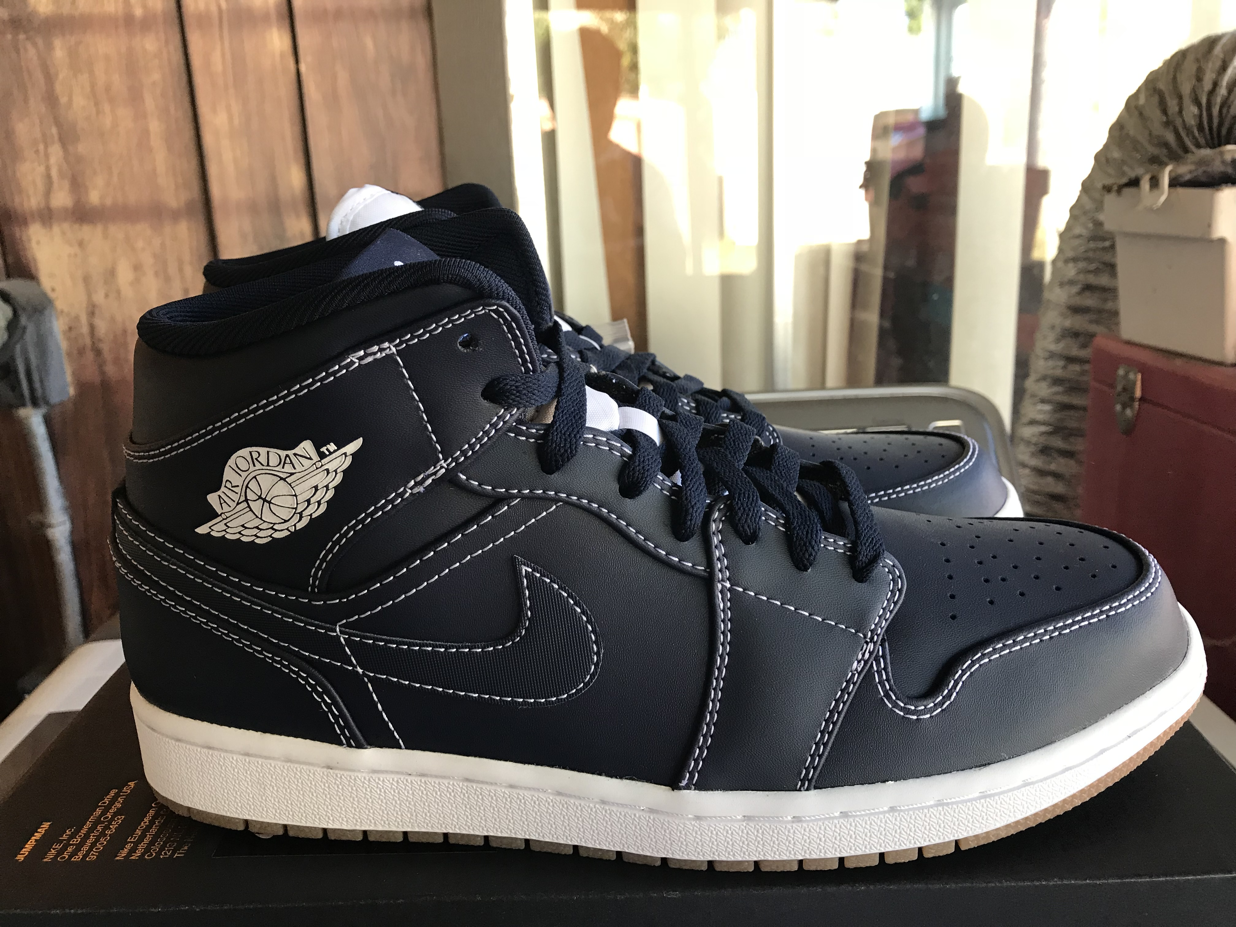 dd97a9d97e5b Nike × Jordan Brand. NEW Nike Air Jordan 1 Mid Re2pect Derek Jeter Size ...