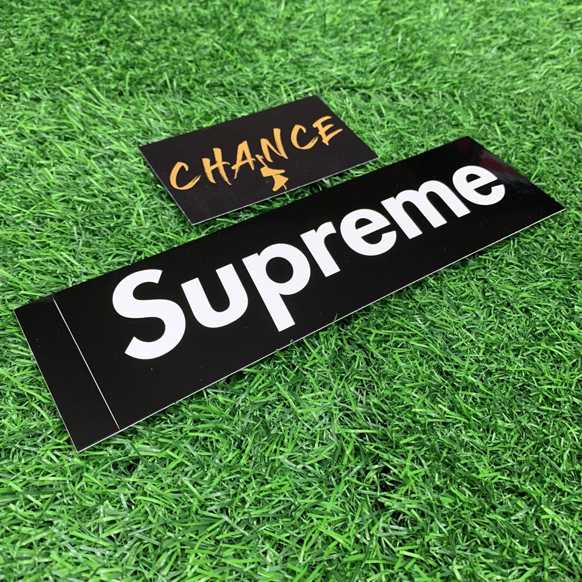 10//10 Condition 2006//07 Genuine RARE Supreme Gloss Black Box Logo Sticker