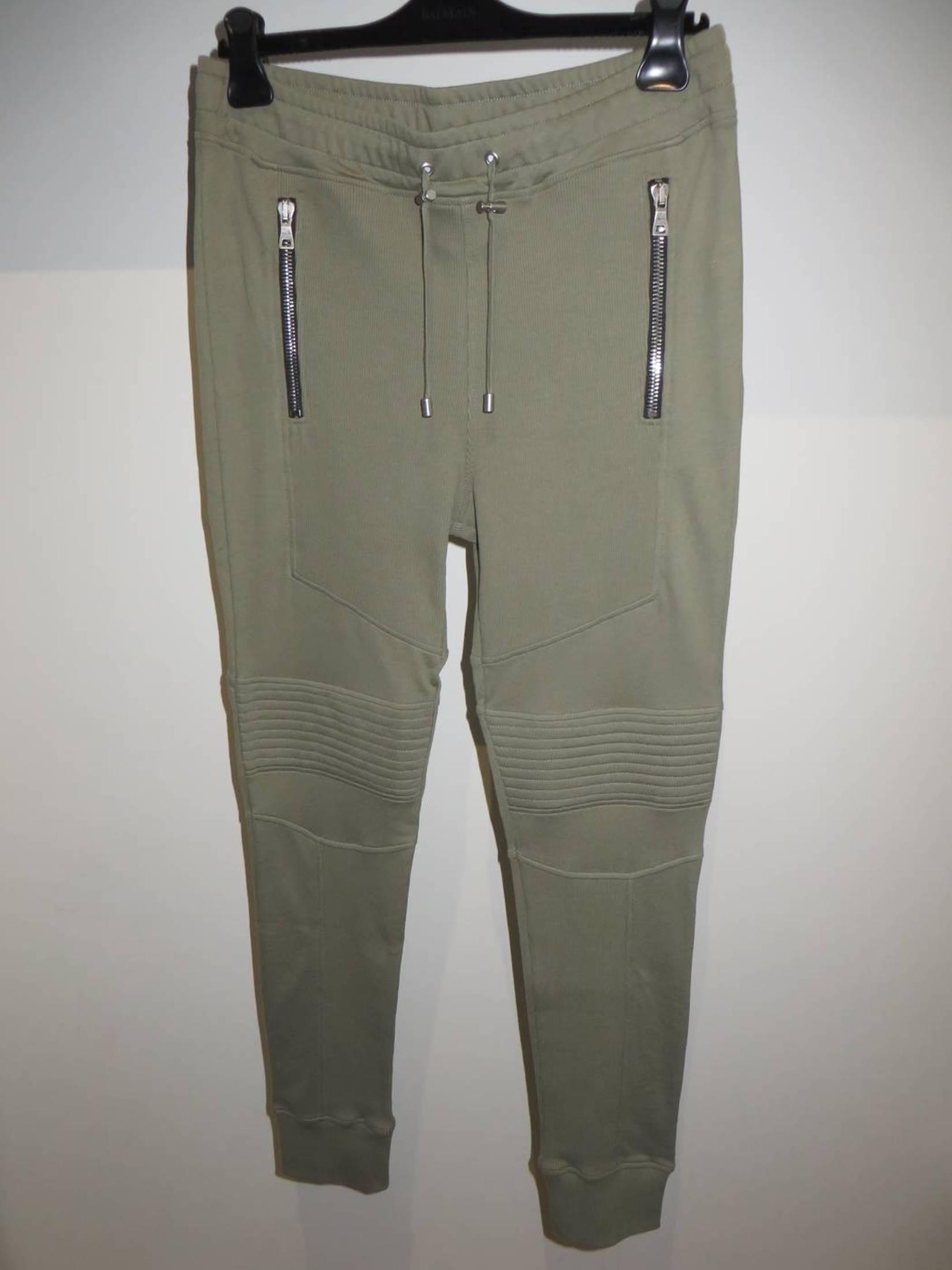 BALMAIN 895$ Skinny Jeans In Blue Stretch Cotton