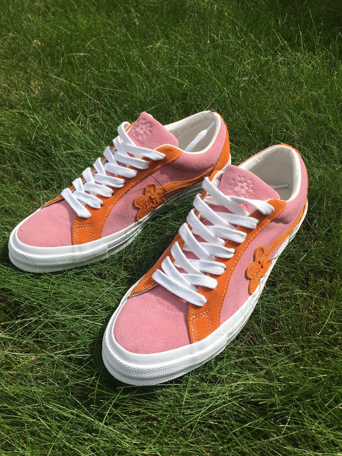Converse Two Tone Pink And Orange Golf Le Fleur One Star Tyler The Creator Grailed