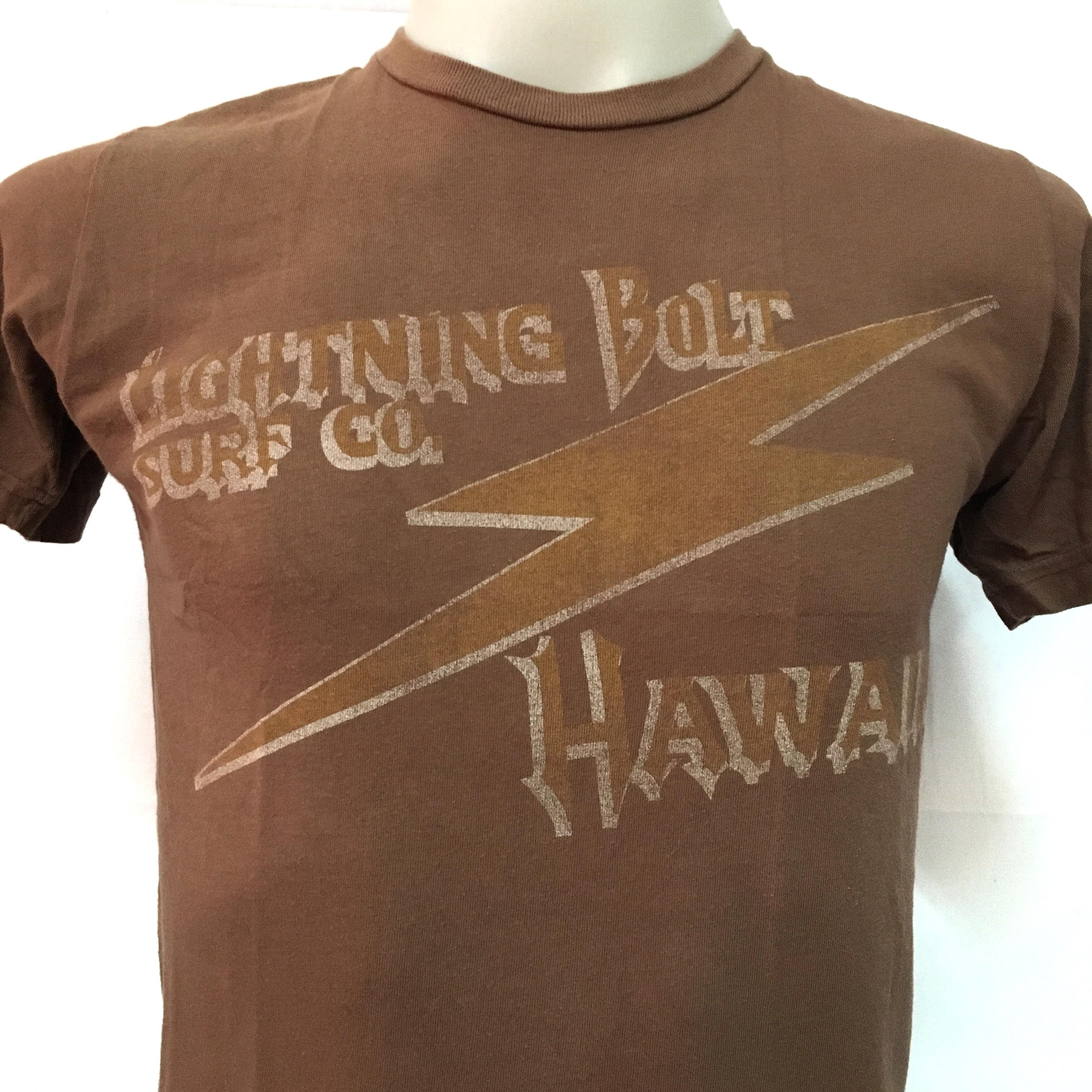 Lightning Bolt Polo Styled Shirt Cathay Spice Lightning Bolt 100/% Cotton Surf