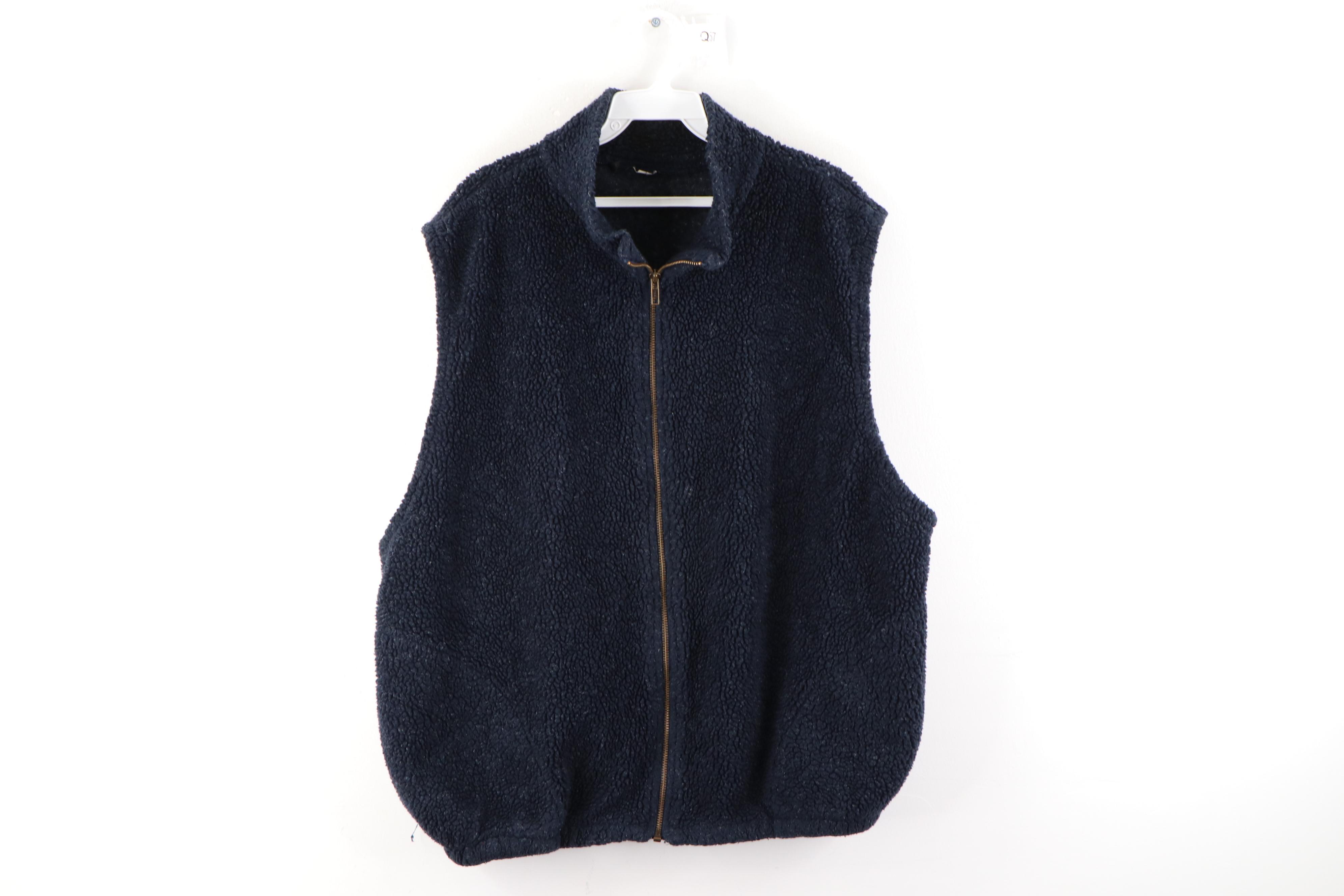 Vintage Long Zippered Vest