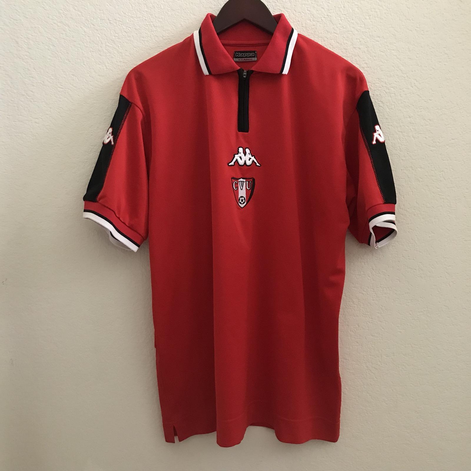 Vintage Vintage Kappa Red CVU 1 2 Zip Polo Shirt Size xl - Polos for Sale -  Grailed f9985c896