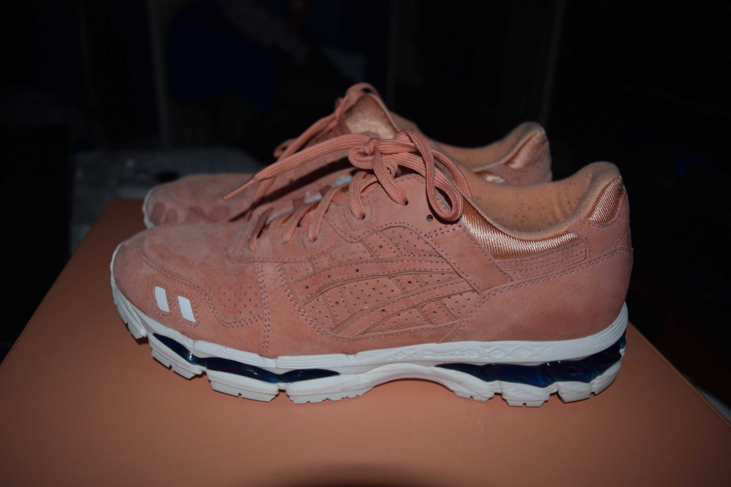 908fcc3bd5e4 Asics Kith X Asics Gel Lyte III.i Salmon Toe Salmon Legends Day Size 11.5  Size 11.5 - Low-Top Sneakers for Sale - Grailed