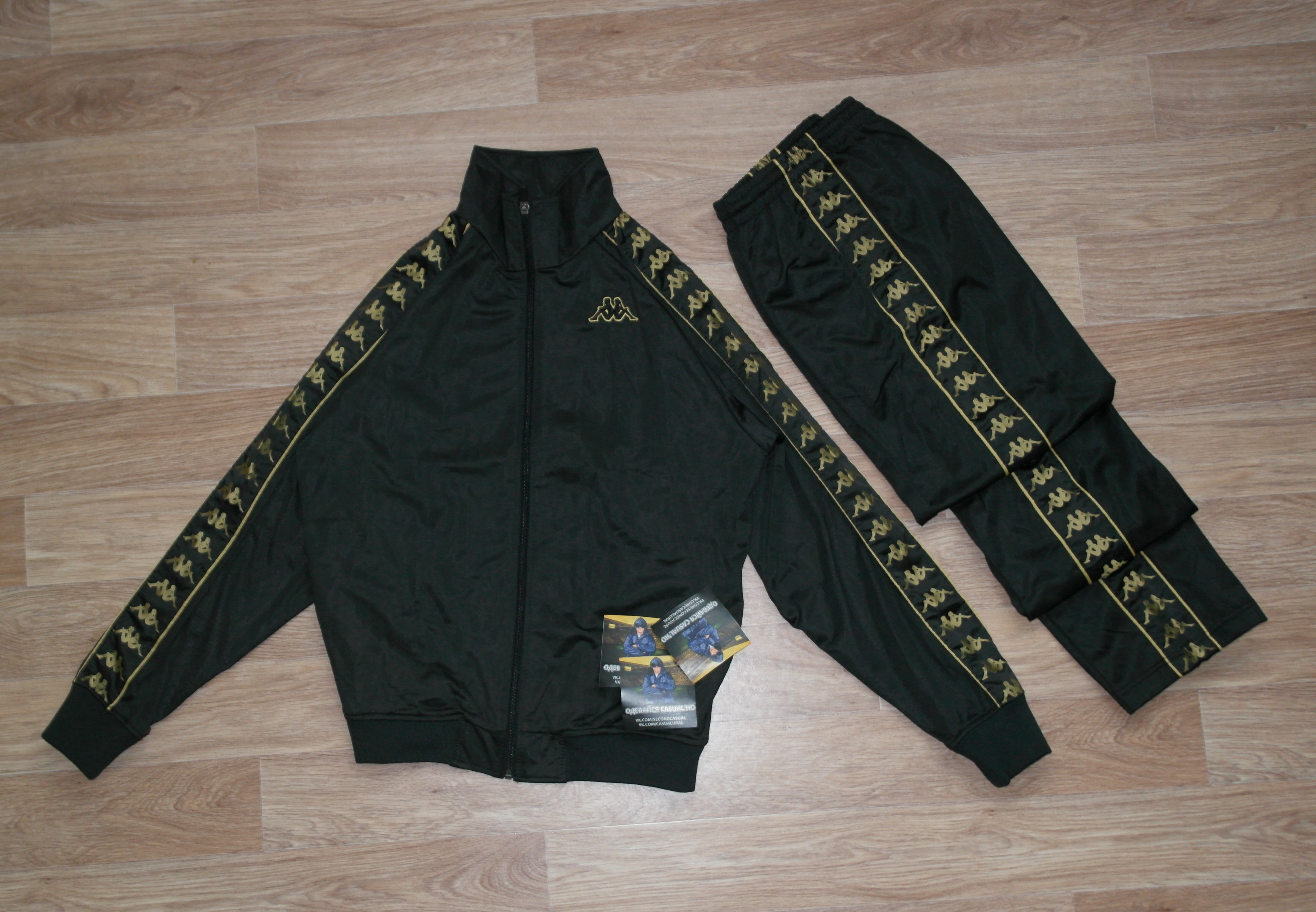 673d9c0ef1375 kappa vintage sports suit