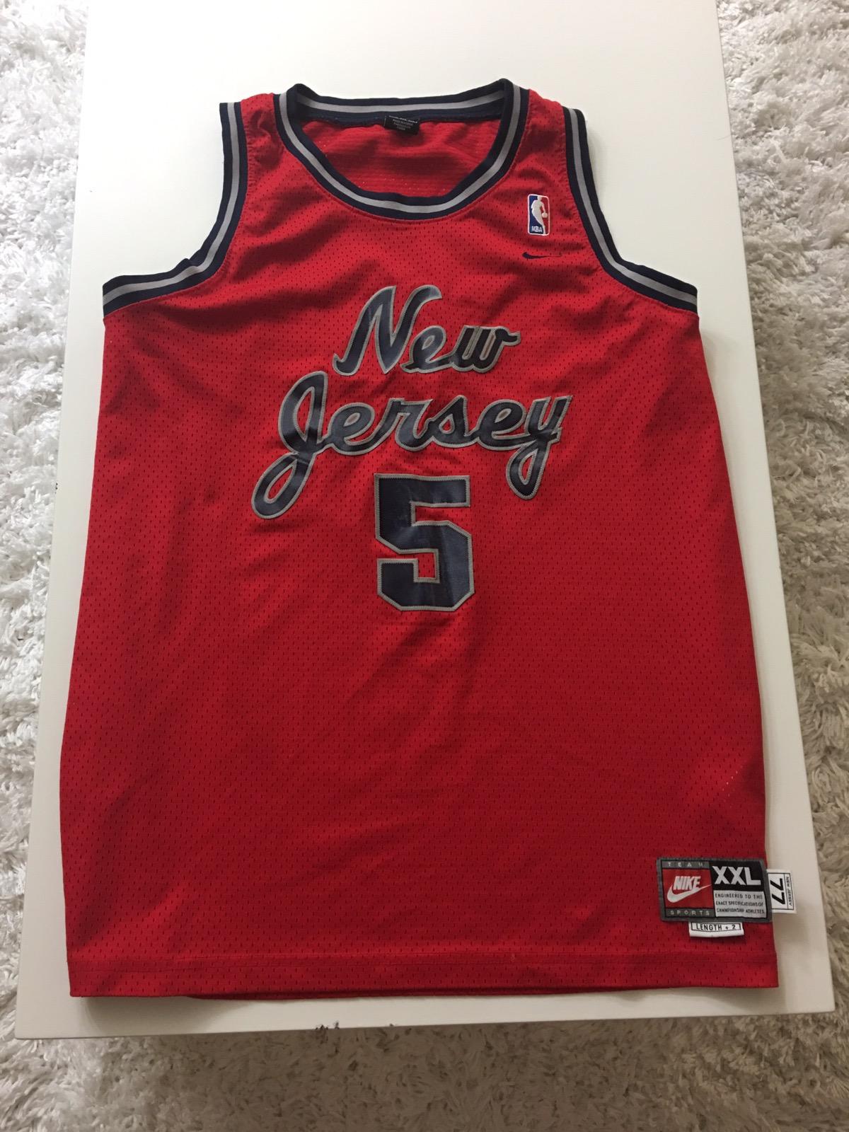 7eab611209b Nike New Jersey Nets Jason Kidd Red Nike Nba Basketball Jersey 2xl Xxl Rare  90s Vintage | Grailed