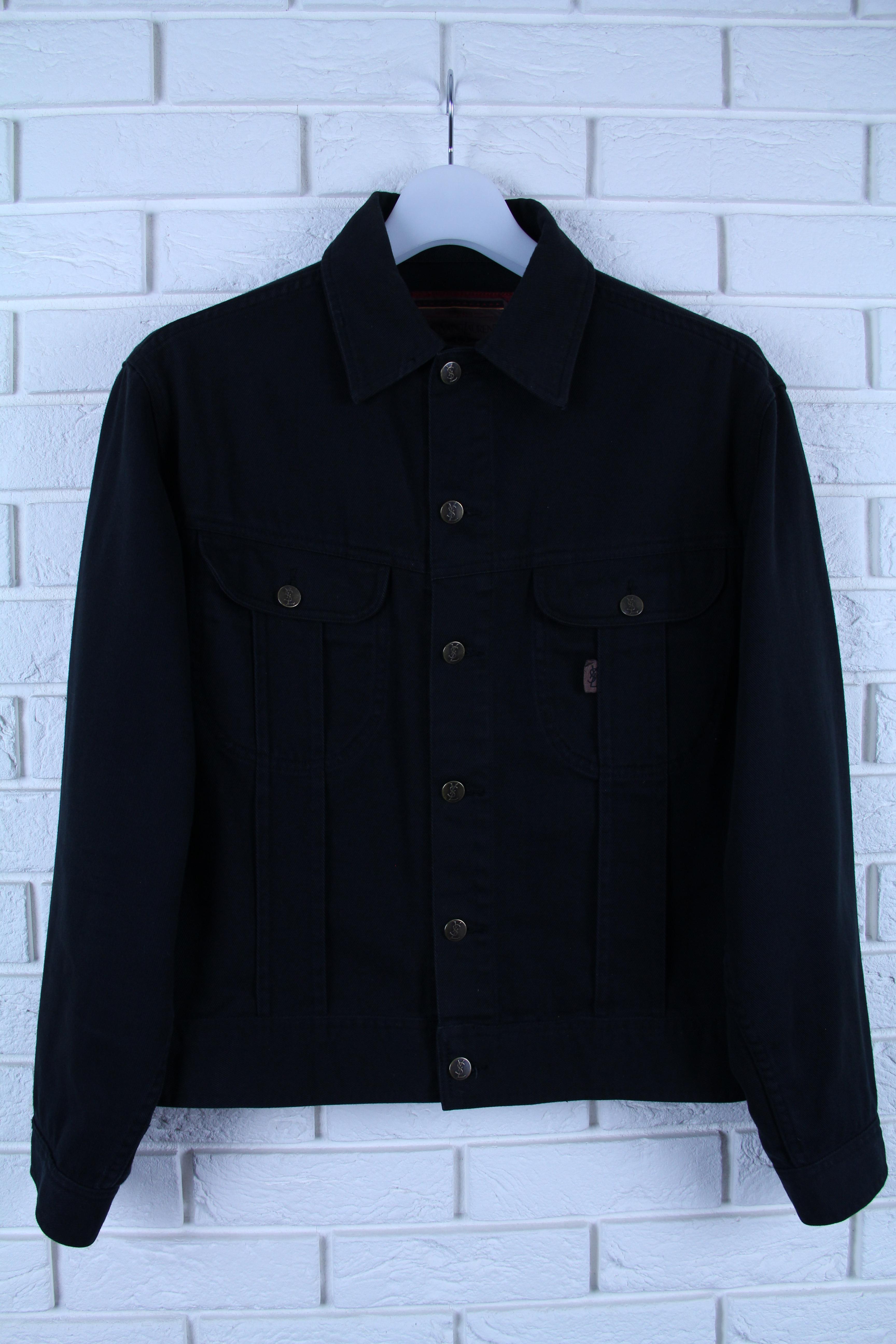 5f68f46e926 Saint Laurent Paris × Yves Saint Laurent ×. Final Drop! Rare YSL Denim  Jacket
