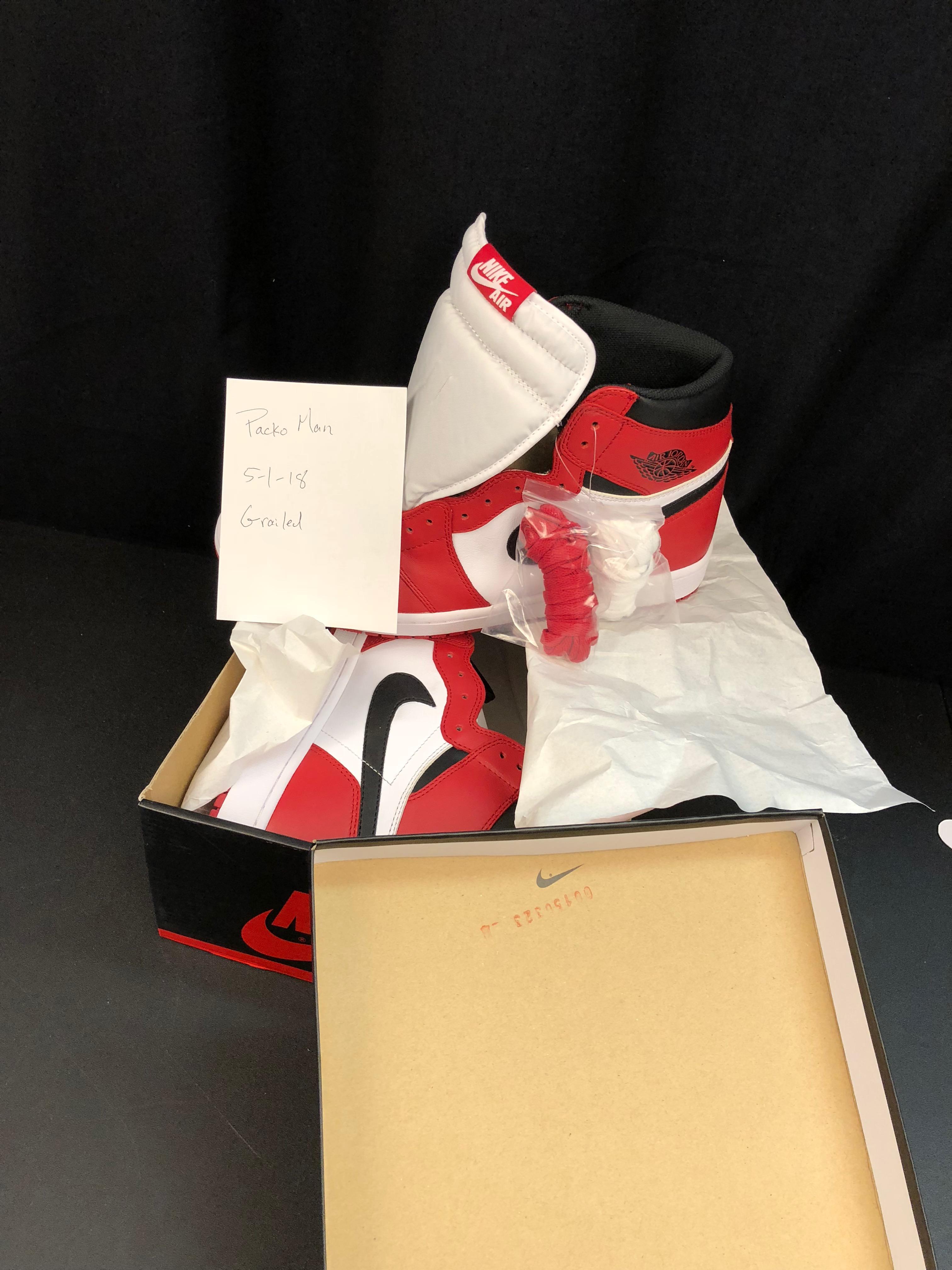 be0afa5f251948 Nike 2015 Air Jordan 1 Retro High Og Chicago Bulls 2015 555088 101 ...