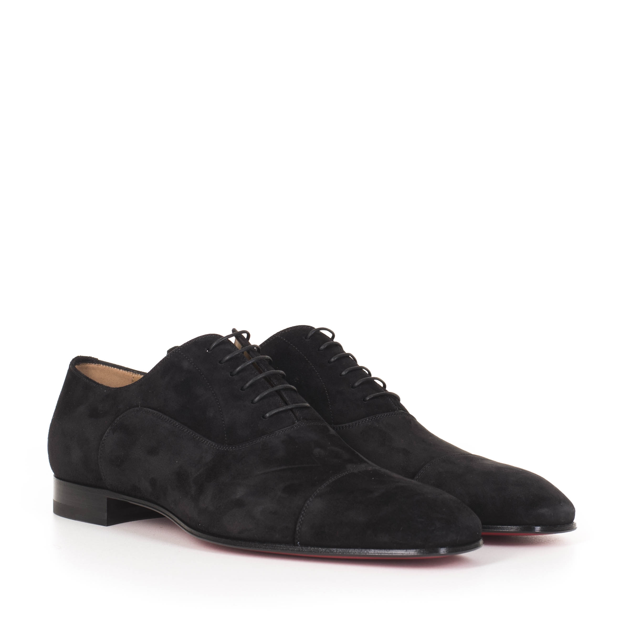new arrival d77e0 c61c9 Black Suede Greggo Derby Shoes