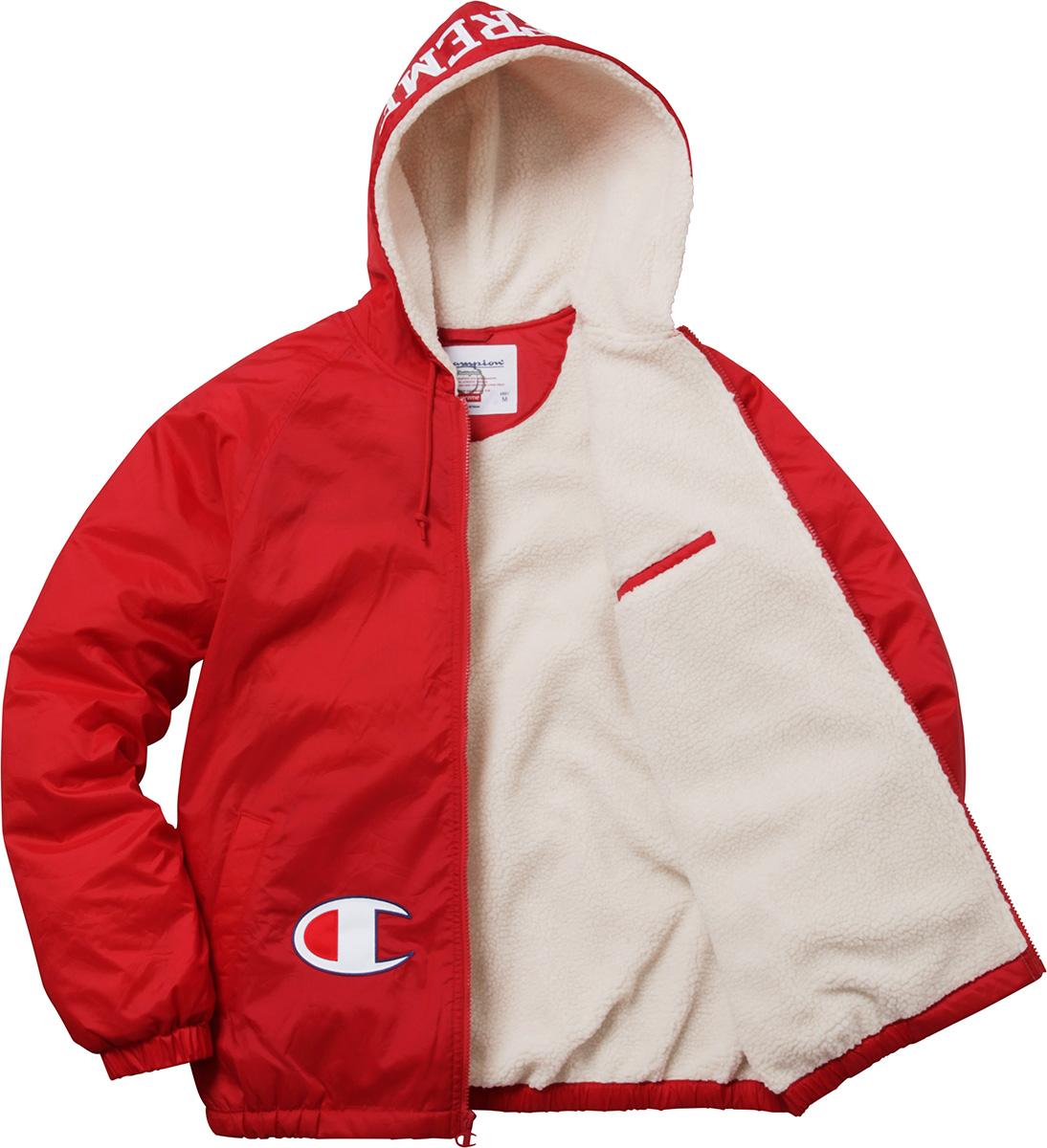 d5c5ed65a241 Supreme Supreme X Champion Sherpa Jacket Size L