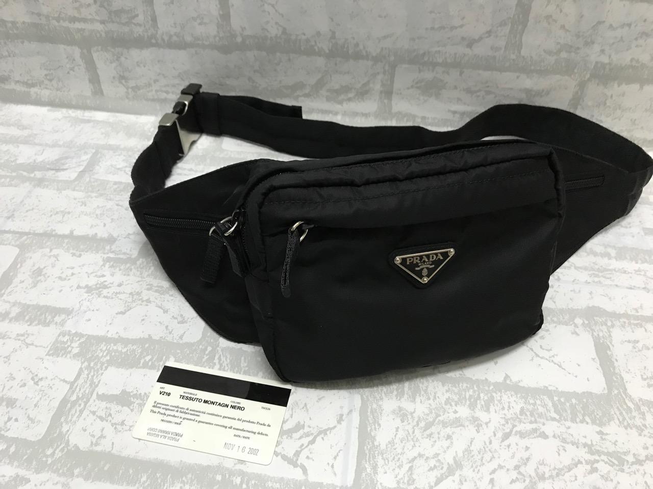 7261fbb7563c Prada Prada Nylon Waist Bag Size one size - Bags & Luggage for Sale -  Grailed