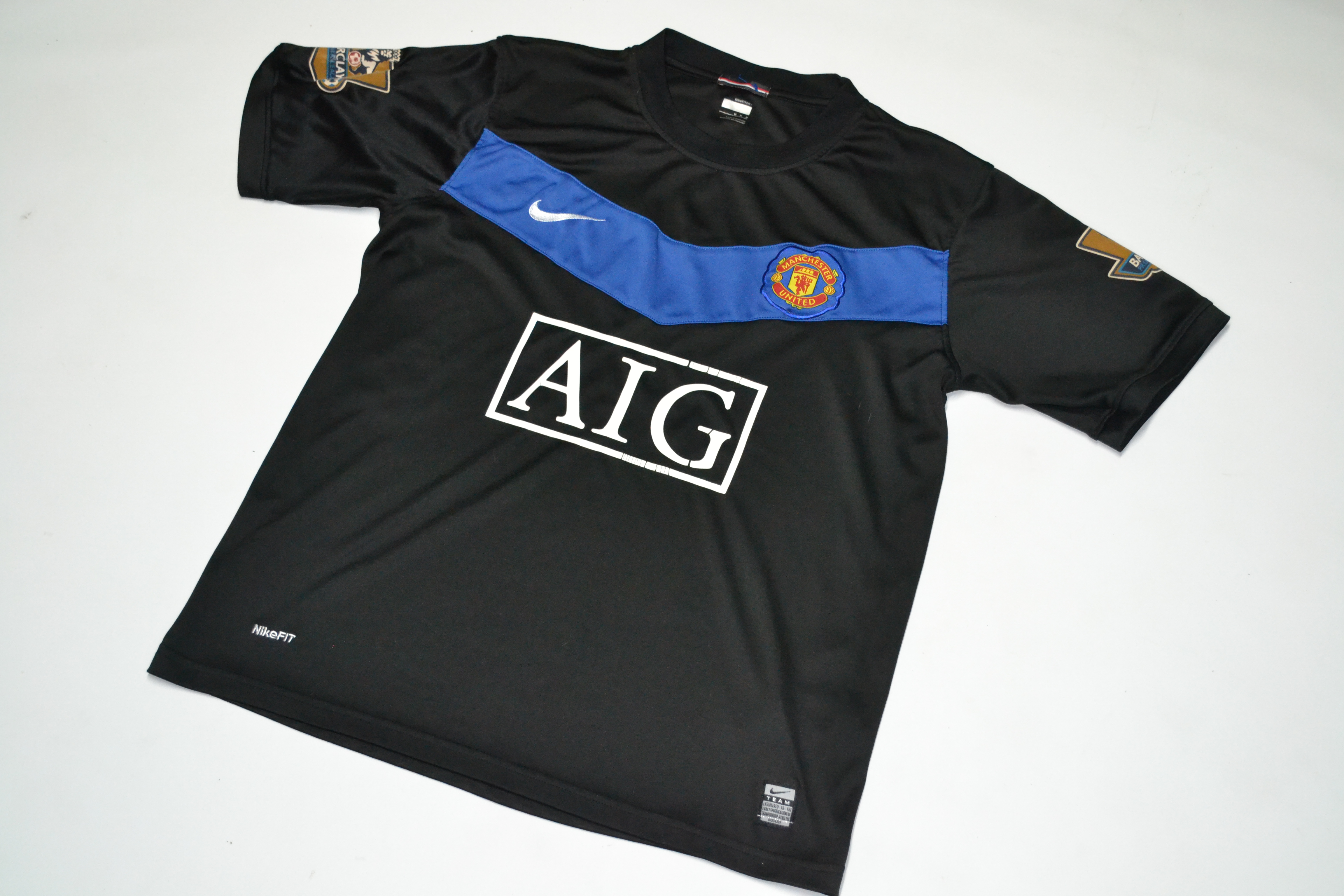 51e236a10 Nike Manchester United Soccer Futbol Jersey Nike Dry Fit Aig | Grailed