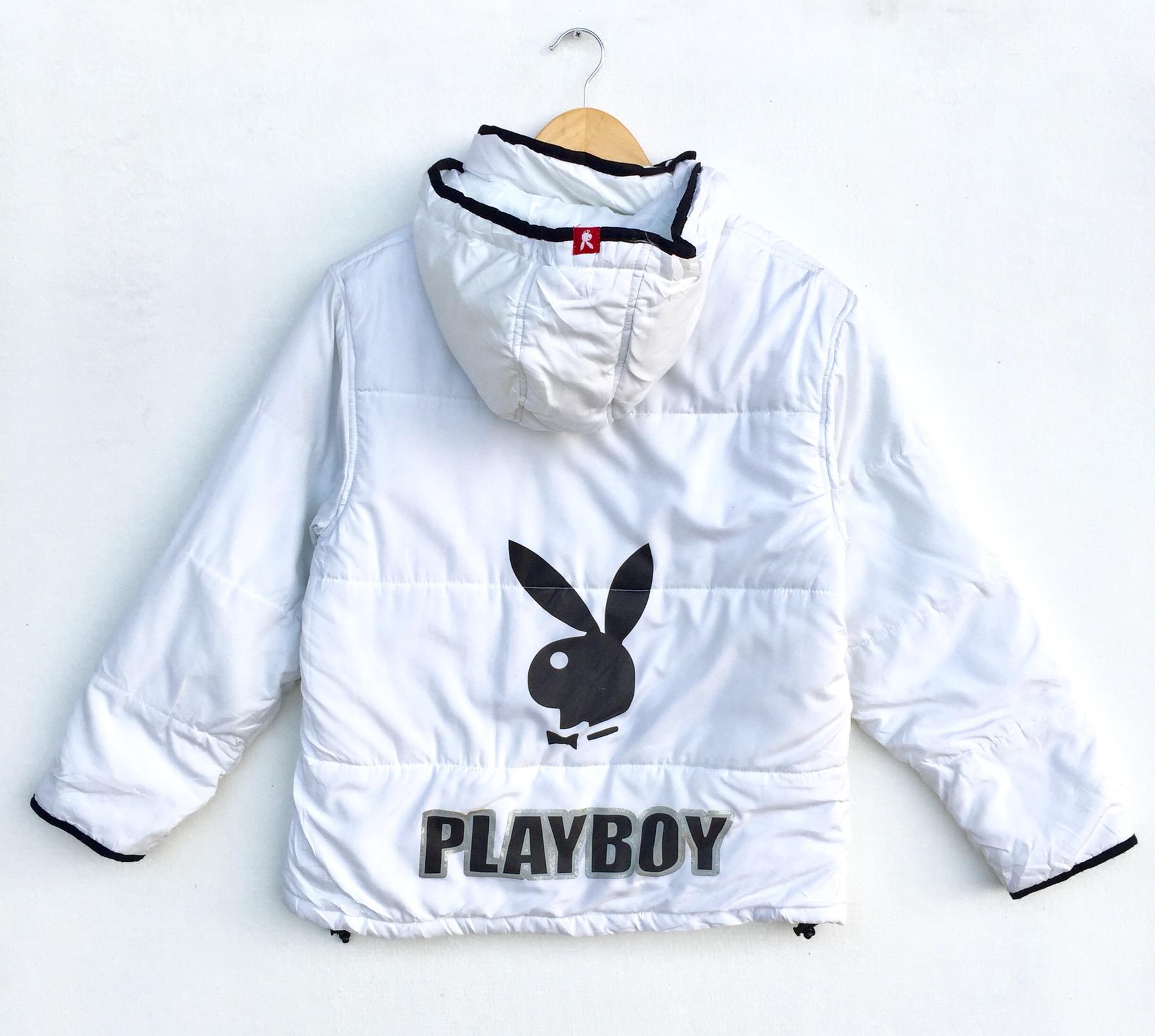 Playboy Jacket Playboy Windbreaker Playboy Big Logo Jacket Playboy Bunny Jacket Women Size L