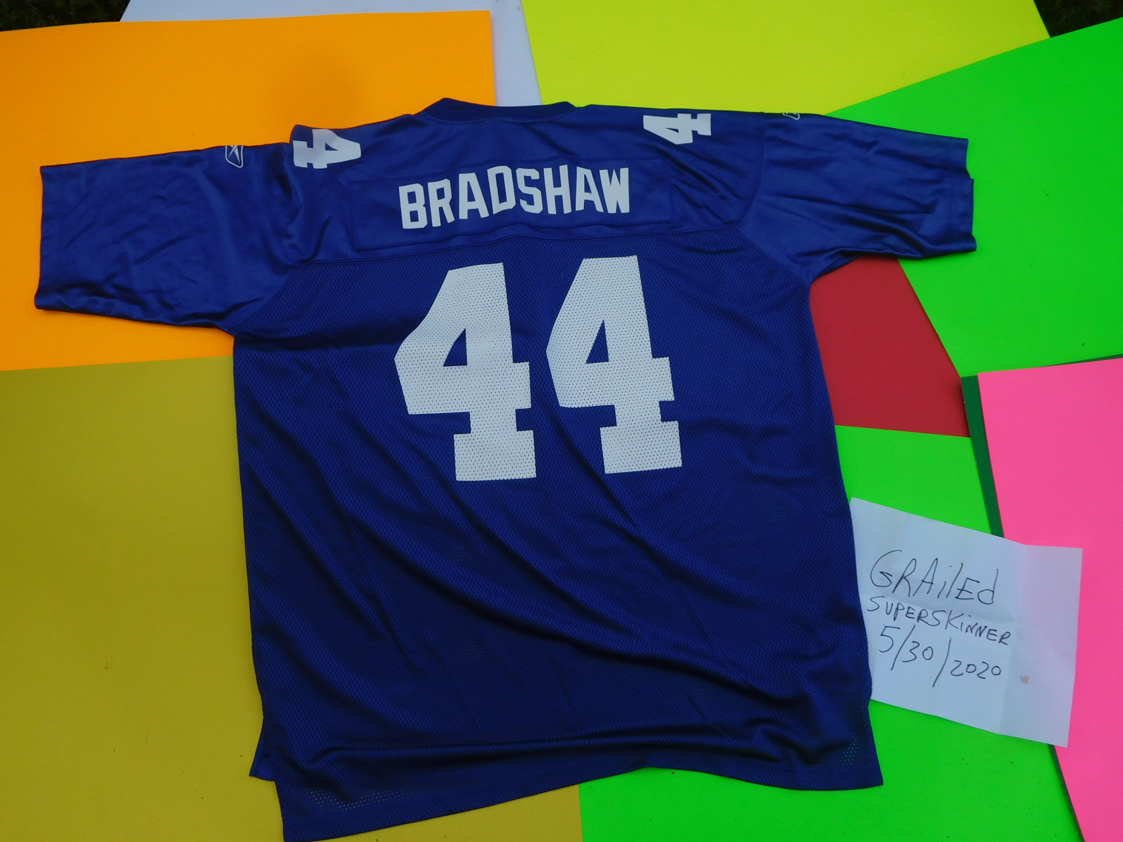 Vintage VINTAGE Ahmad Bradshaw jersey licensed Great buy