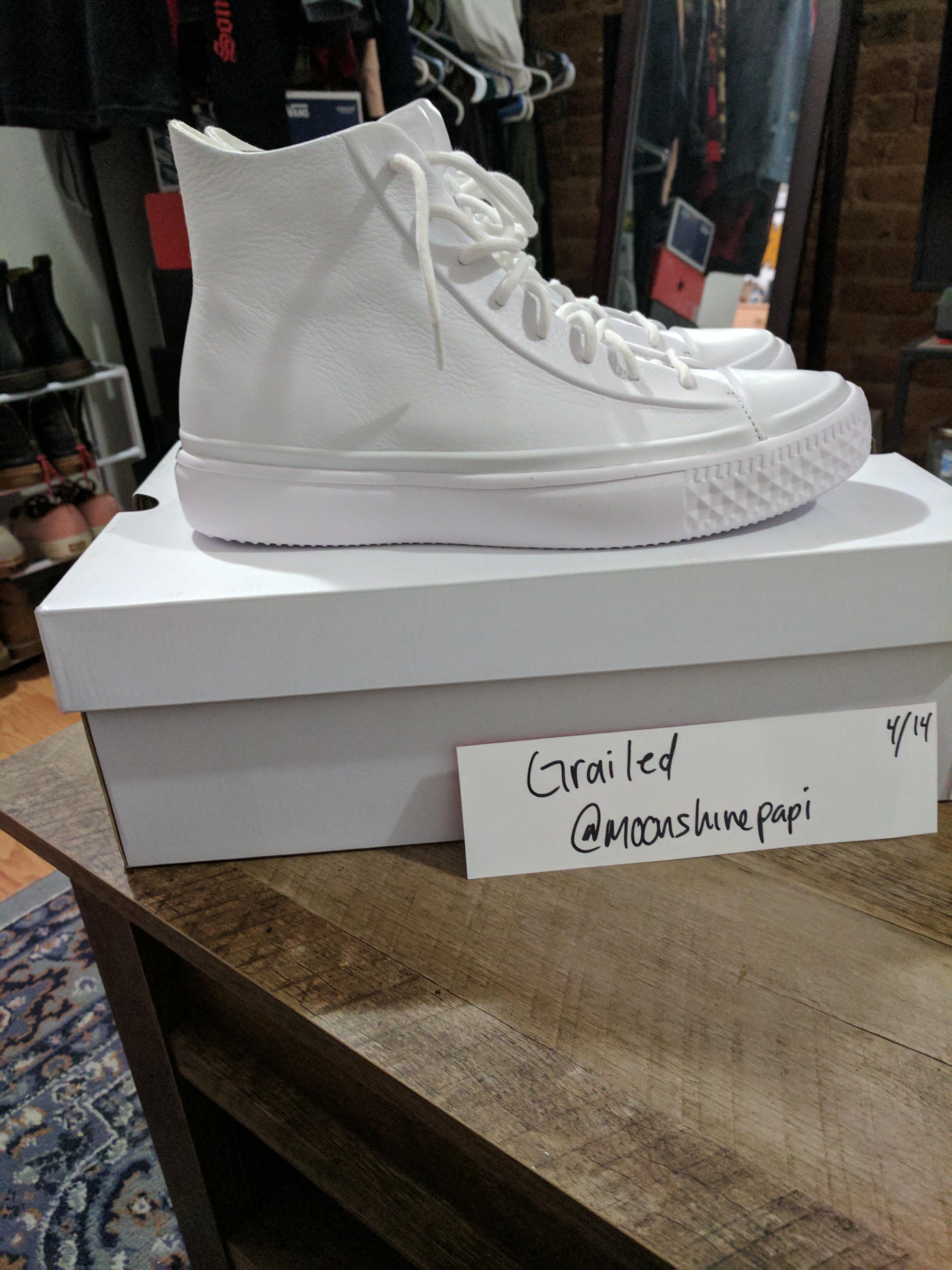 353b8678e85e Converse Converse Chuck Taylor All Star Modern Lux White Size 10 ...