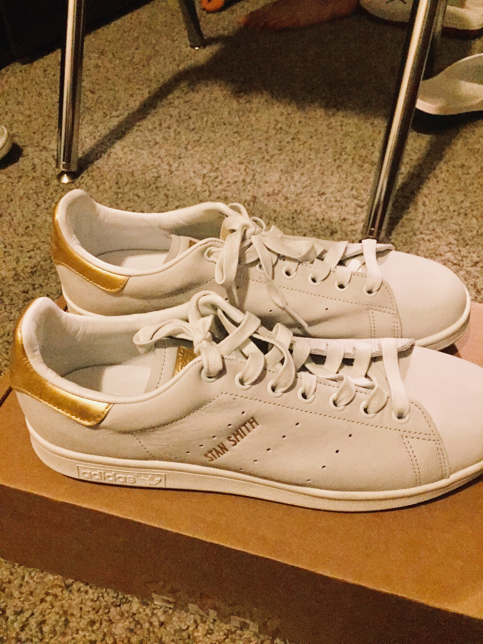 sneakers for cheap 88363 af81d Adidas Stan Smith 24k