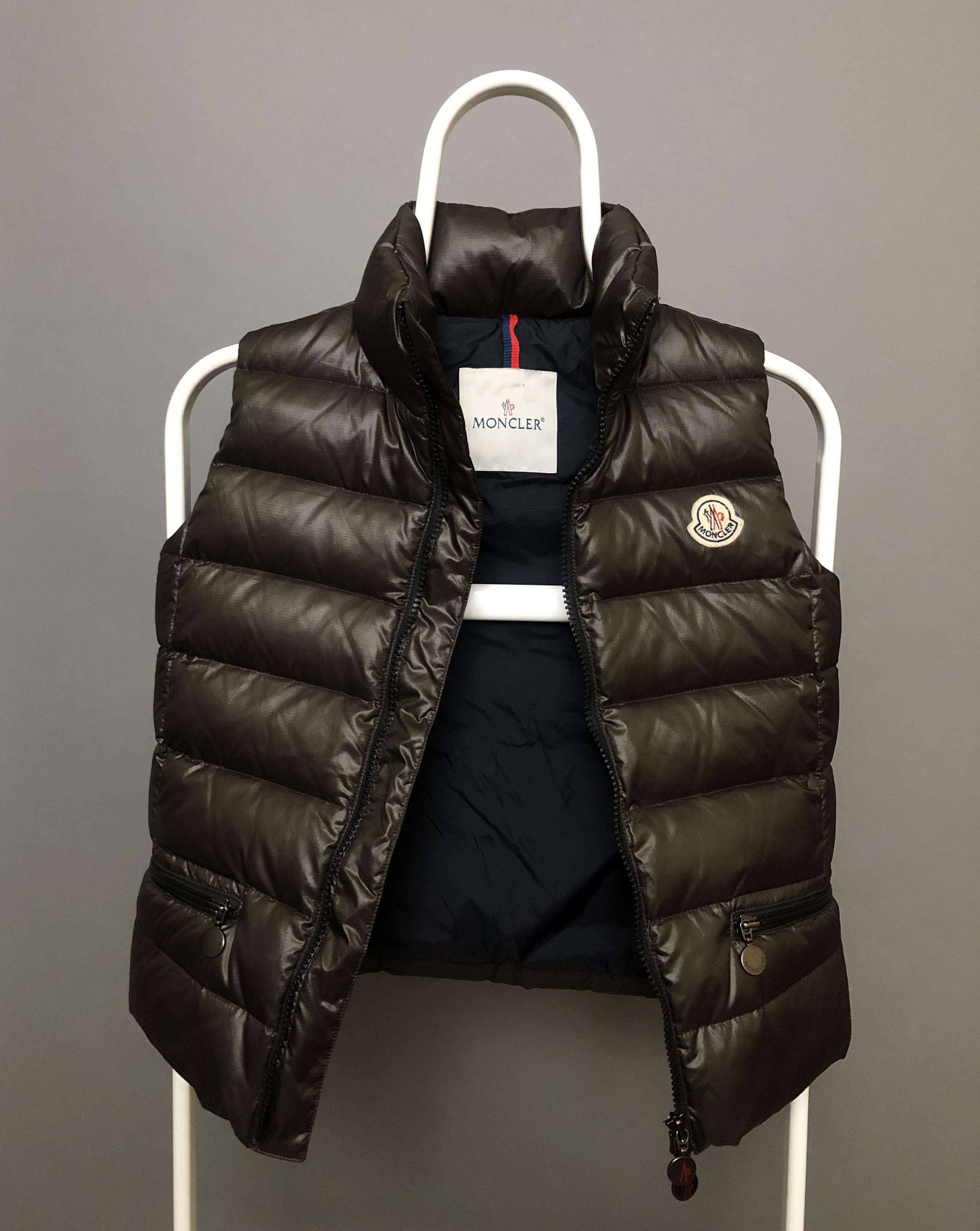 Moncler Moncler Men's Black Polyamide Down Jacket Black RG5Q78KGX