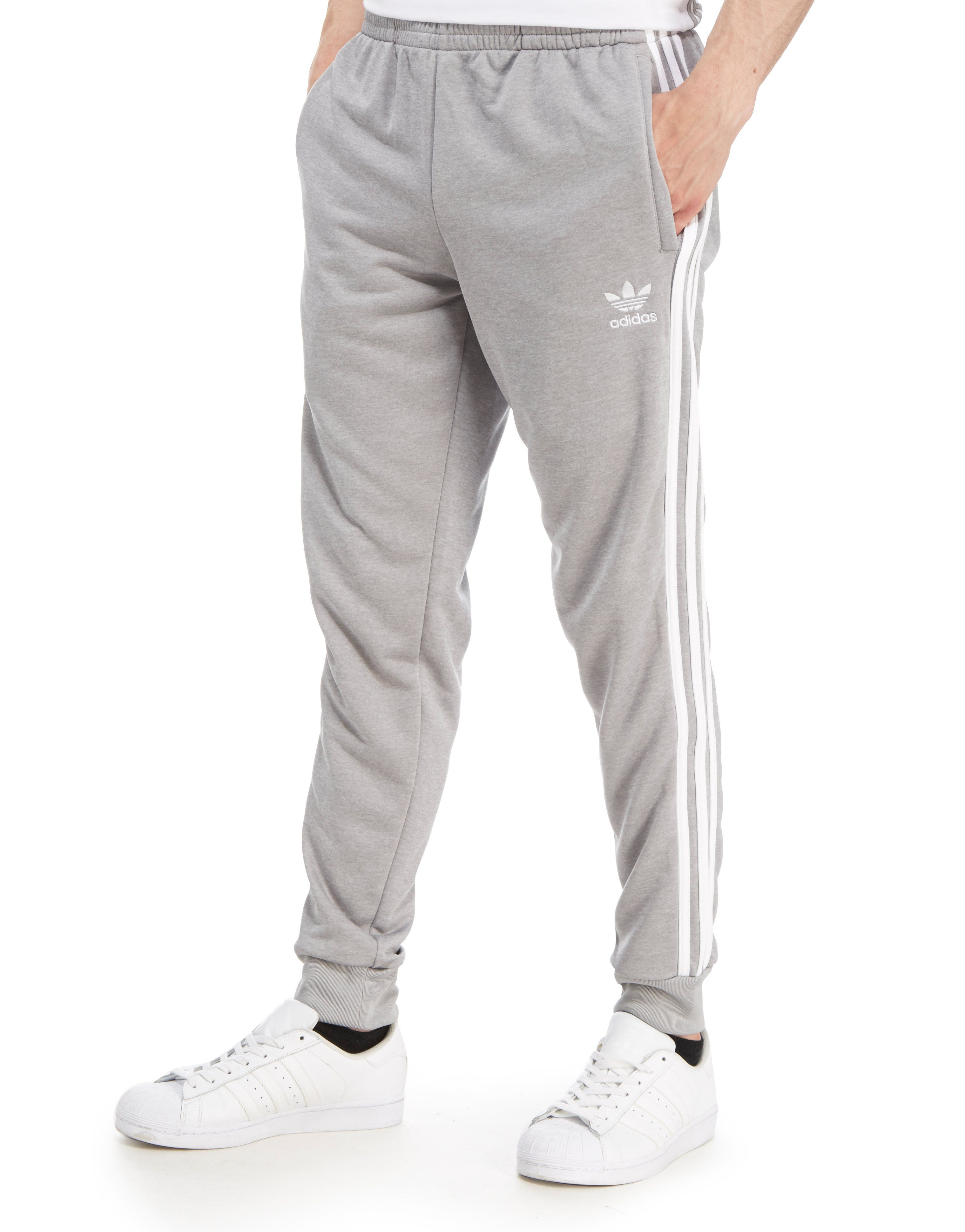 1a55c194e5f6 Adidas adidas Originals Superstar Track Pants Grey Size 30 - Sweatpants    Joggers for Sale - Grailed