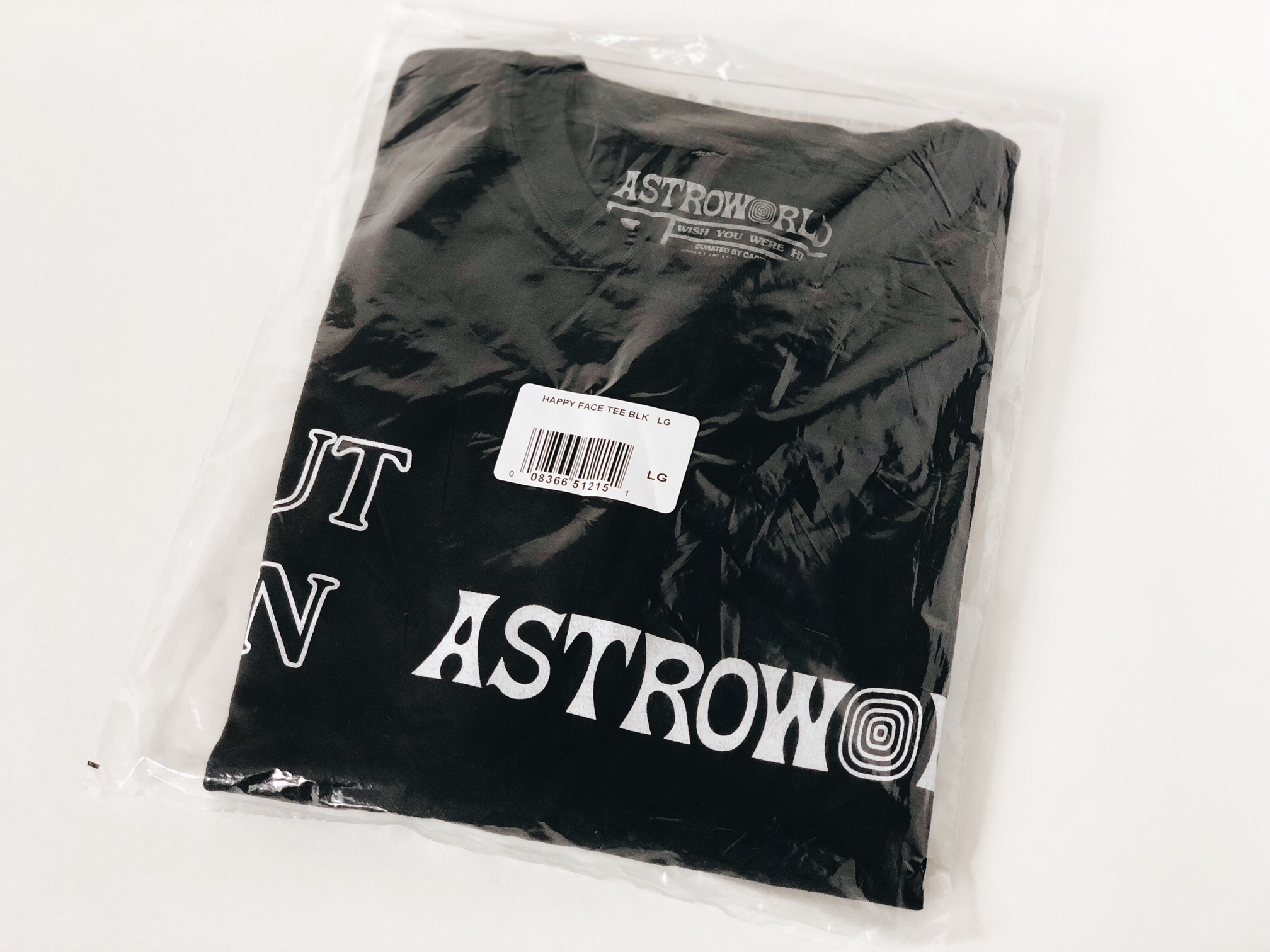 26b331c1e5e5 Travis Scott Travis Scott Astroworld [authentic Merch] Happy Face ...