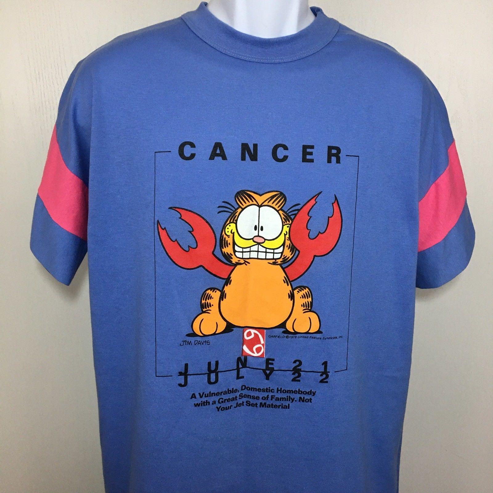 Vintage Garfield T Shirt Vintage 70s Long Adult Tee Single Stitch Sleep Mens Womens Flirts Gift Idea Grailed
