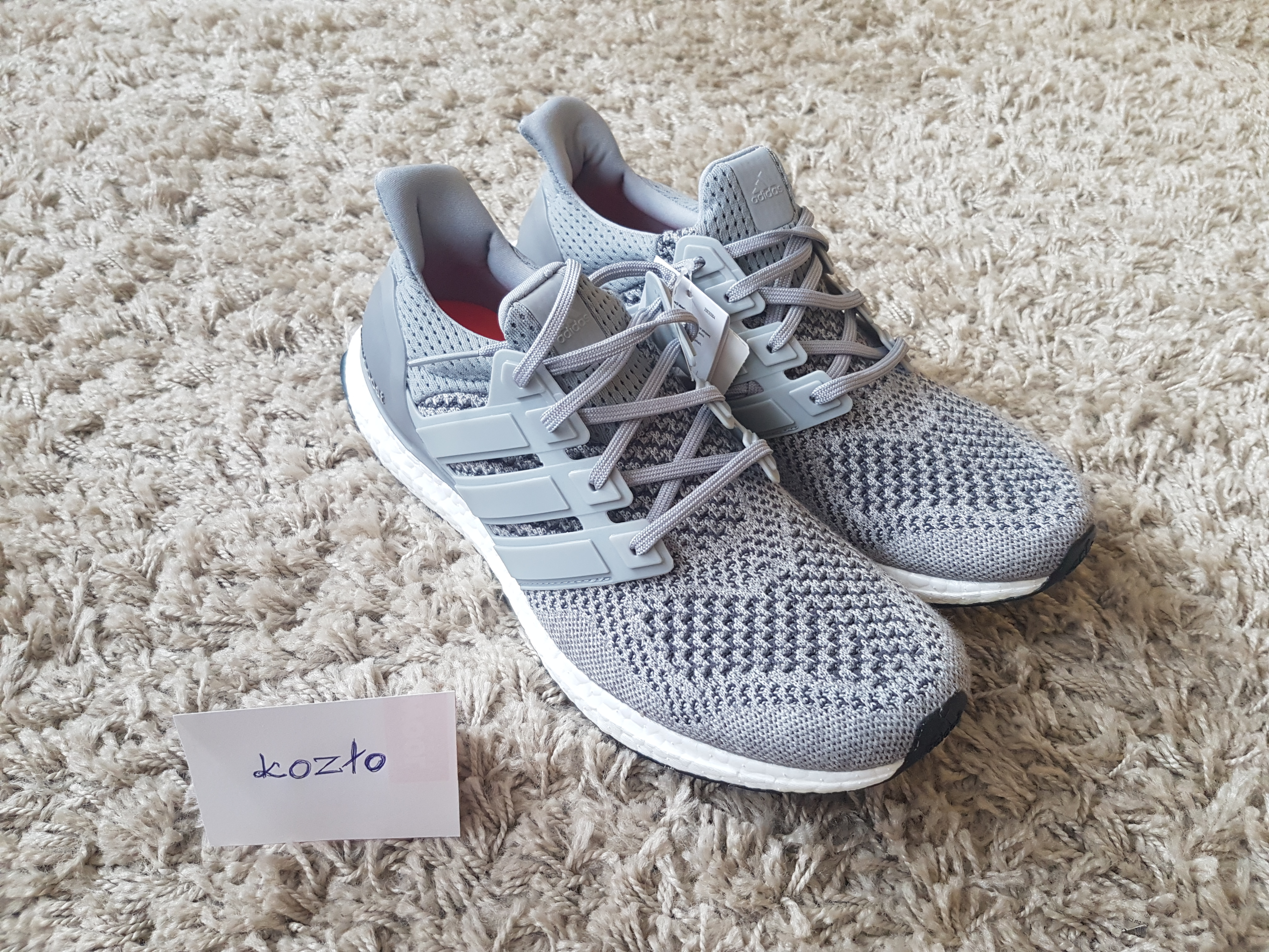 fd9d9c0e7ea5b Adidas ×. Adidas ultra boost 1.0 wool grey ds
