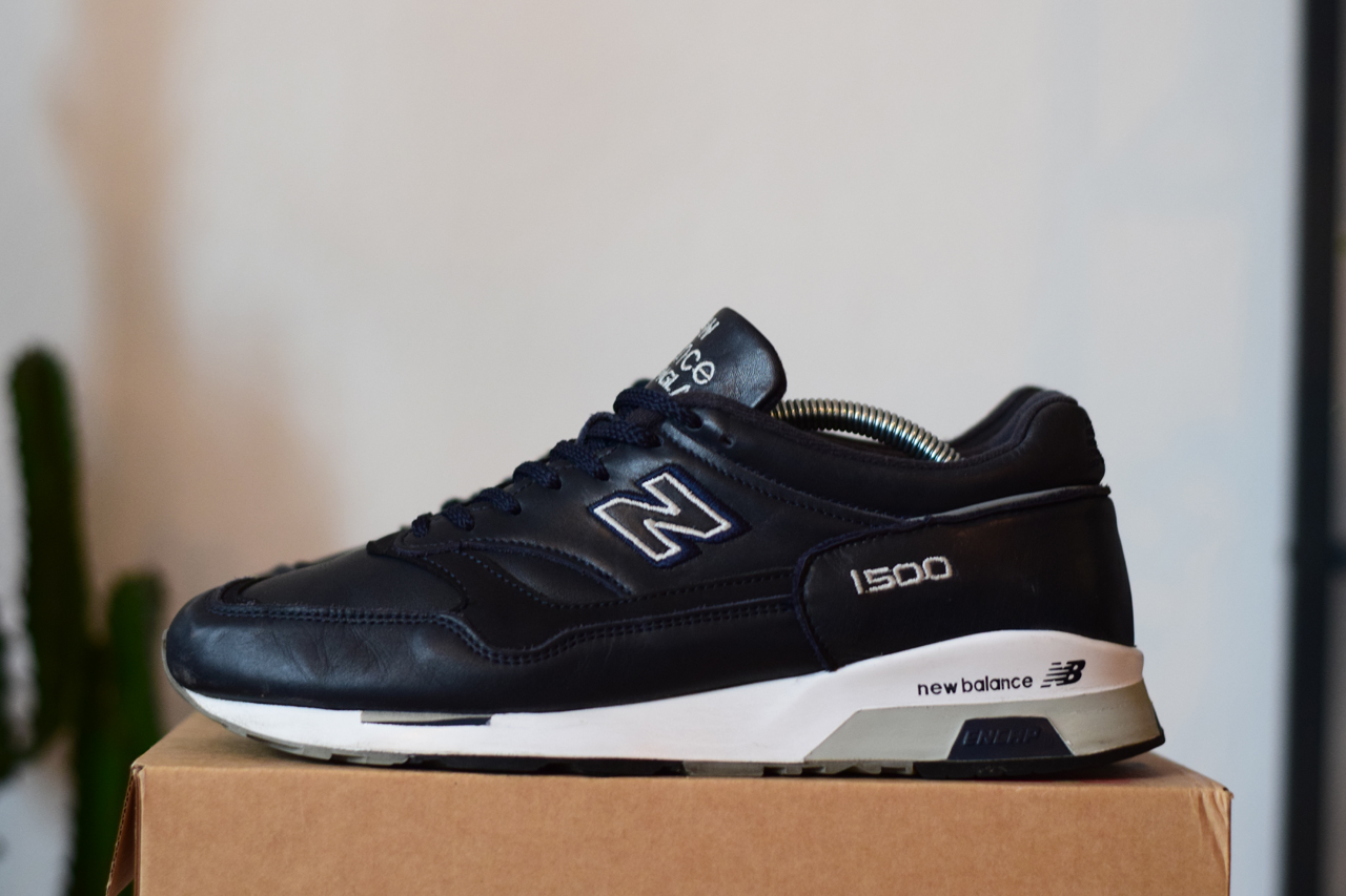 check out d6a72 3c8c5 1500 Midnight Navy Leather