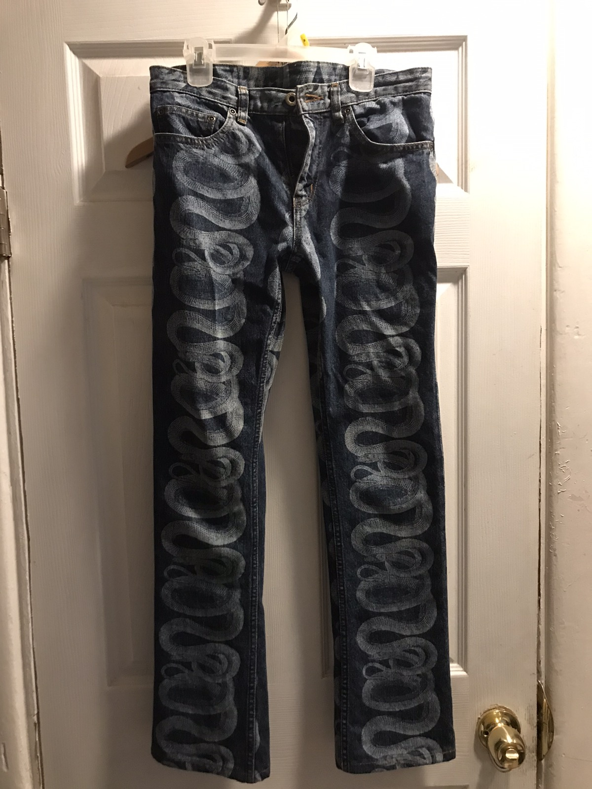Hysteric Glamour Hysteric Glamour Snake Denim *final Price Drop