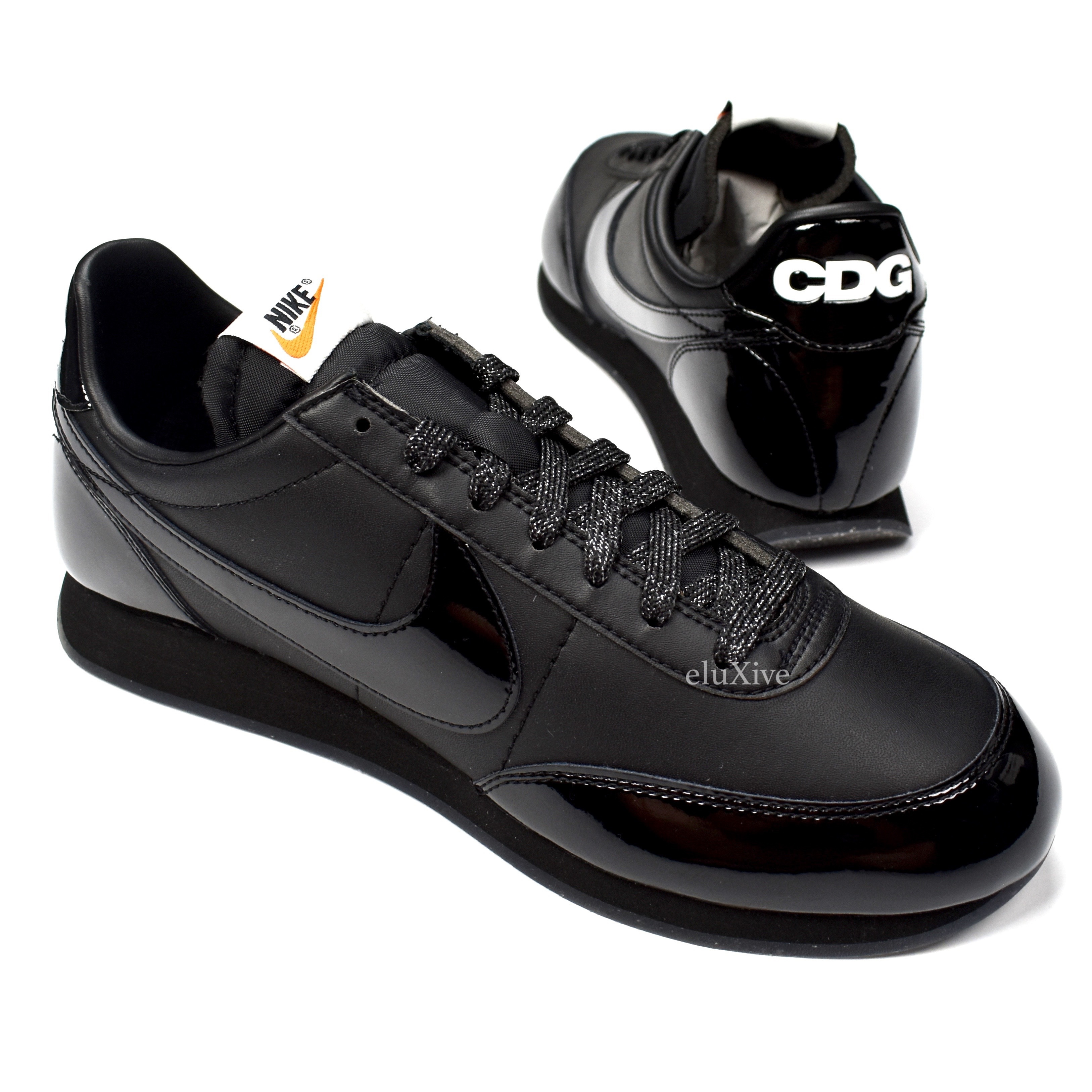 909905c1e7af Nike Cdg Black Nighttrack Sneakers Night Track Ds