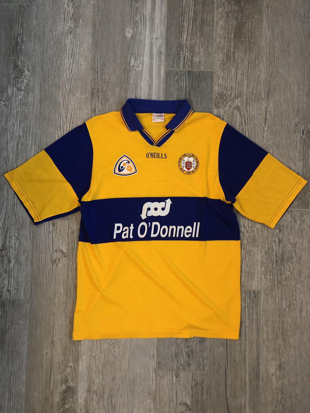 best service 1fe1b 2c6e1 🔥80s O'Neills Pat O'Donnell Irish Soccer Futbol Jersey