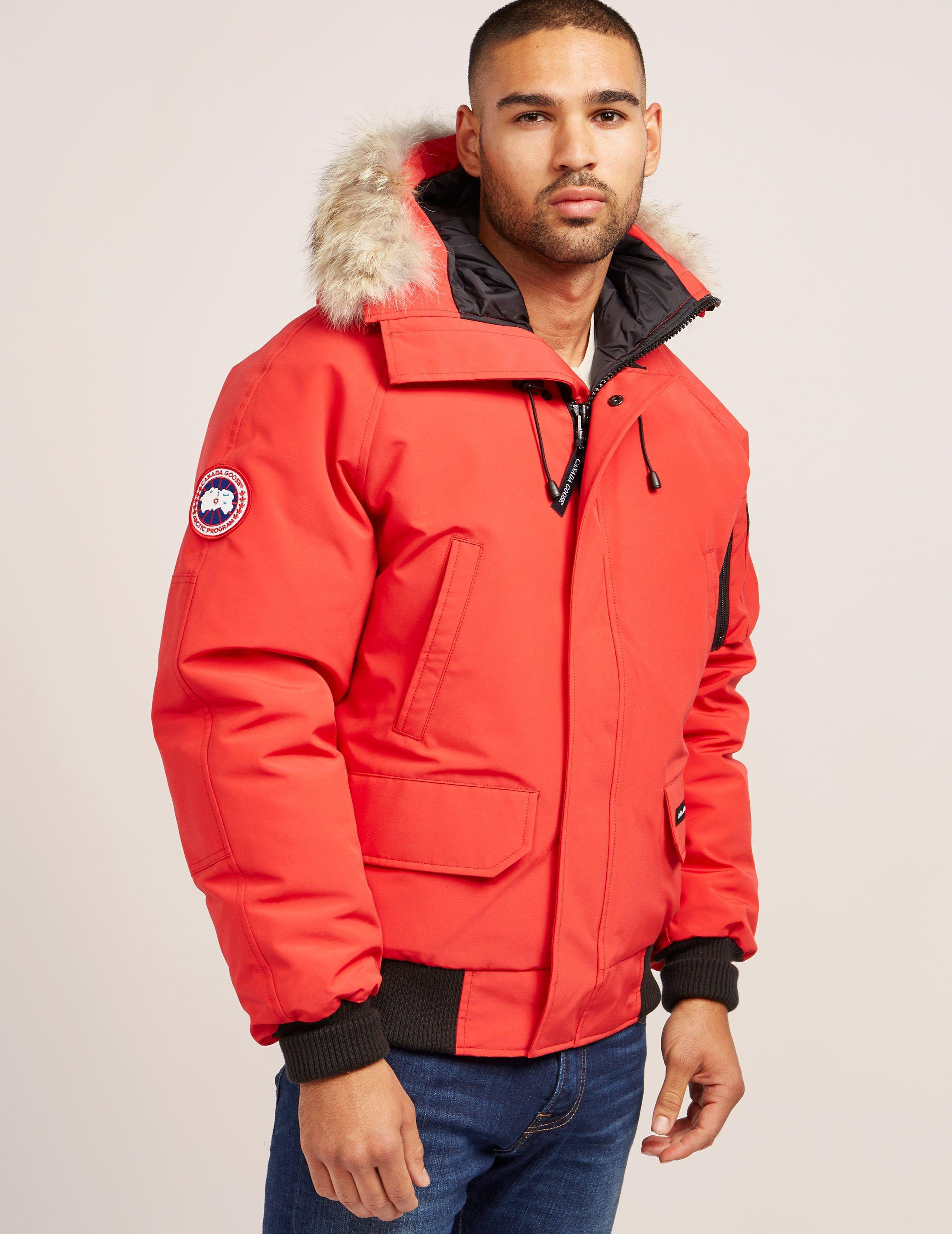 3be90a1ecbf Canada Goose ×. Canada Goose M size Chilliwack Red Down Jacket Bomber Parka