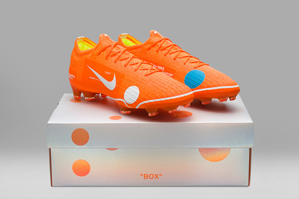 bb67a8f0b Nike Off-white X Nike Cleats Mercurial Vapor 360 Size 7 Us