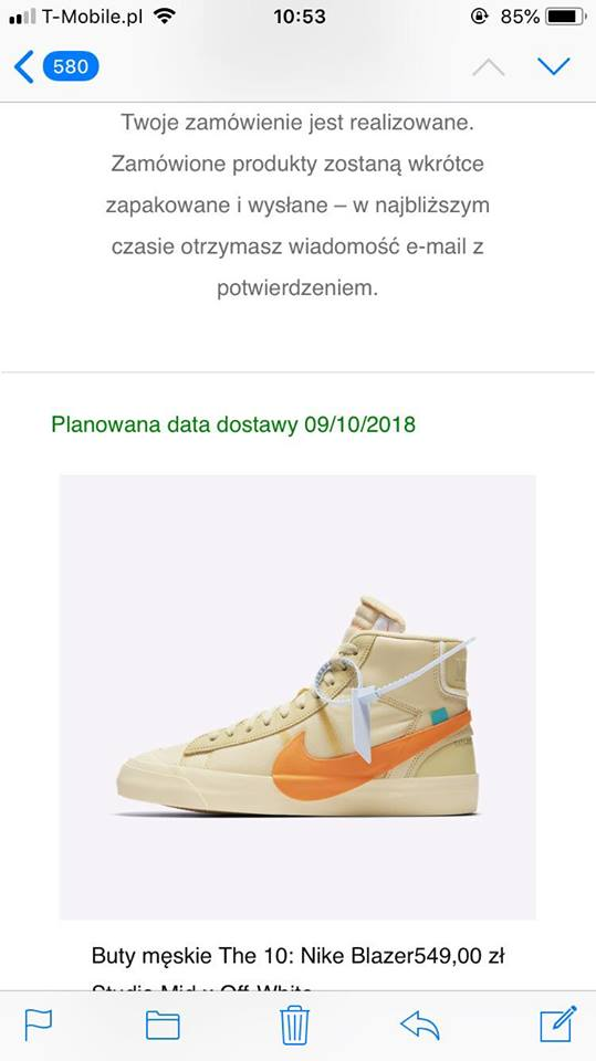 the best attitude aa1f0 67a55 Nike Nike Blazer Mid Off-White All Hallows Eve Size 10.5 - Hi-Top Sneakers  for Sale - Grailed