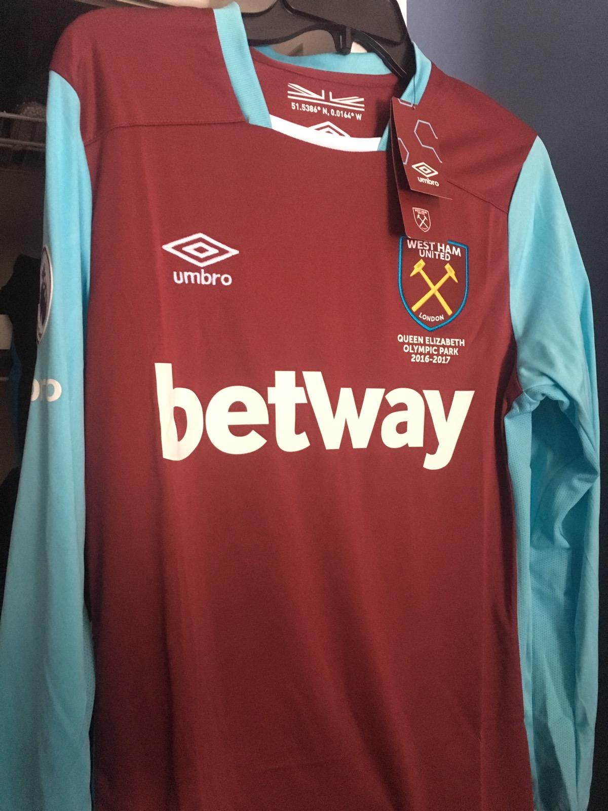 West Ham Dimitri Payet Jersey