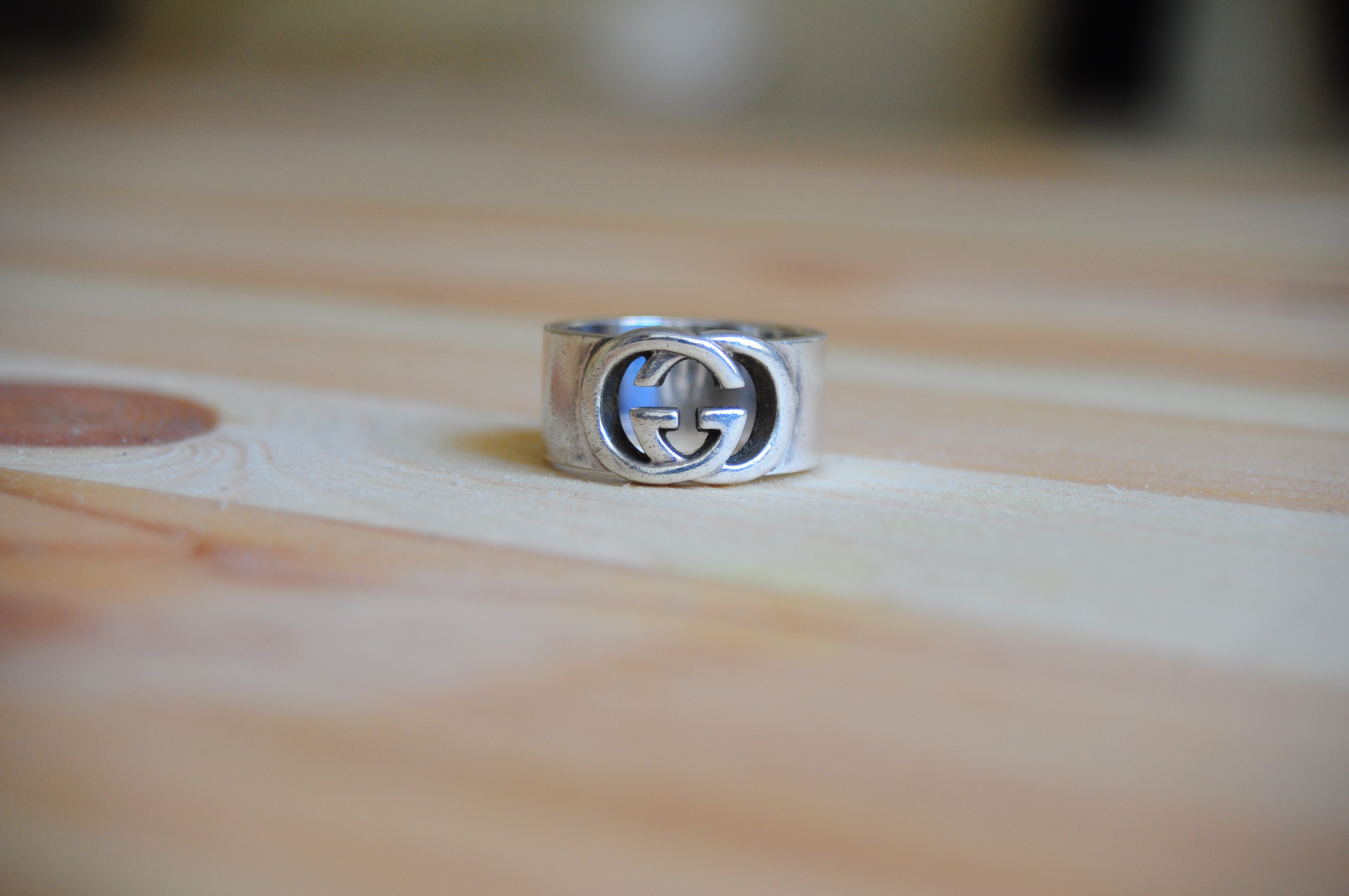 b02b1990c Gucci ×. *Final Price* *Deleting 1/1/18* Interlocking Double G Ring Size  US8 .925 Silver