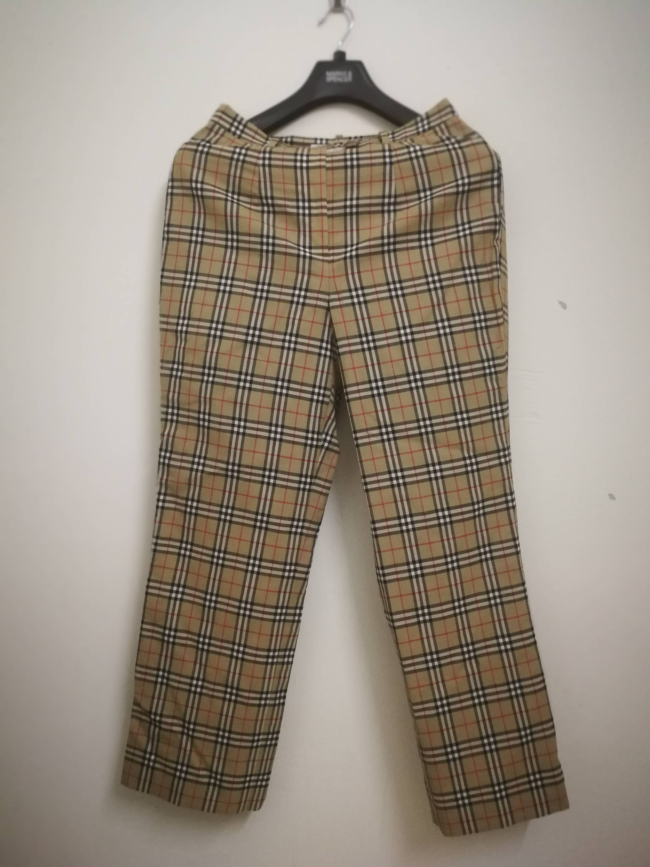 7525c7a10f0a6a Burberry Vintage Burberrys Pants Nova Check Size 42 Brown | Grailed