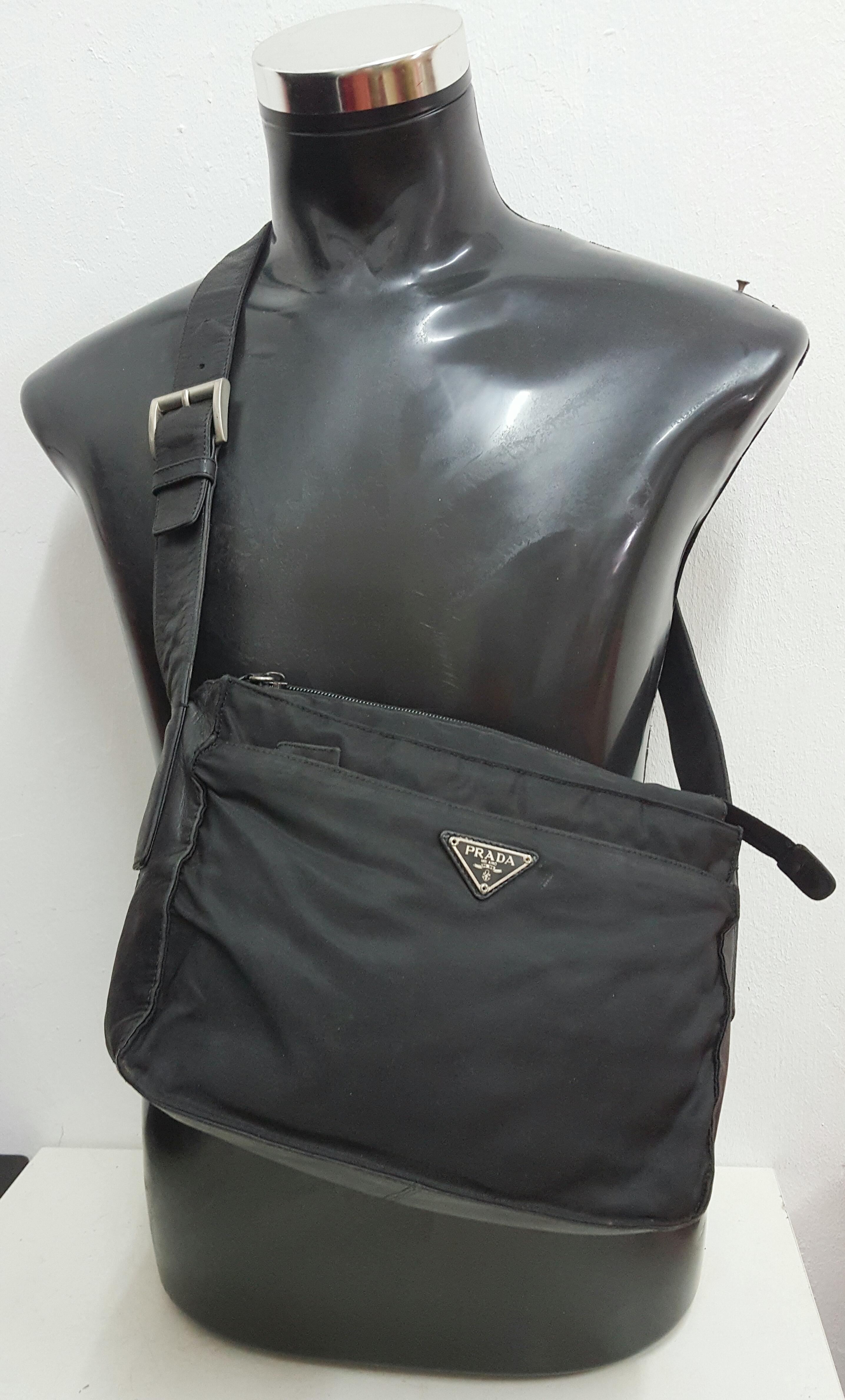 e1e1f16fca66 Vintage × Prada ×. 🔥🔥HOT SALE!!! Authentic Prada Nylon Shoulder Bag