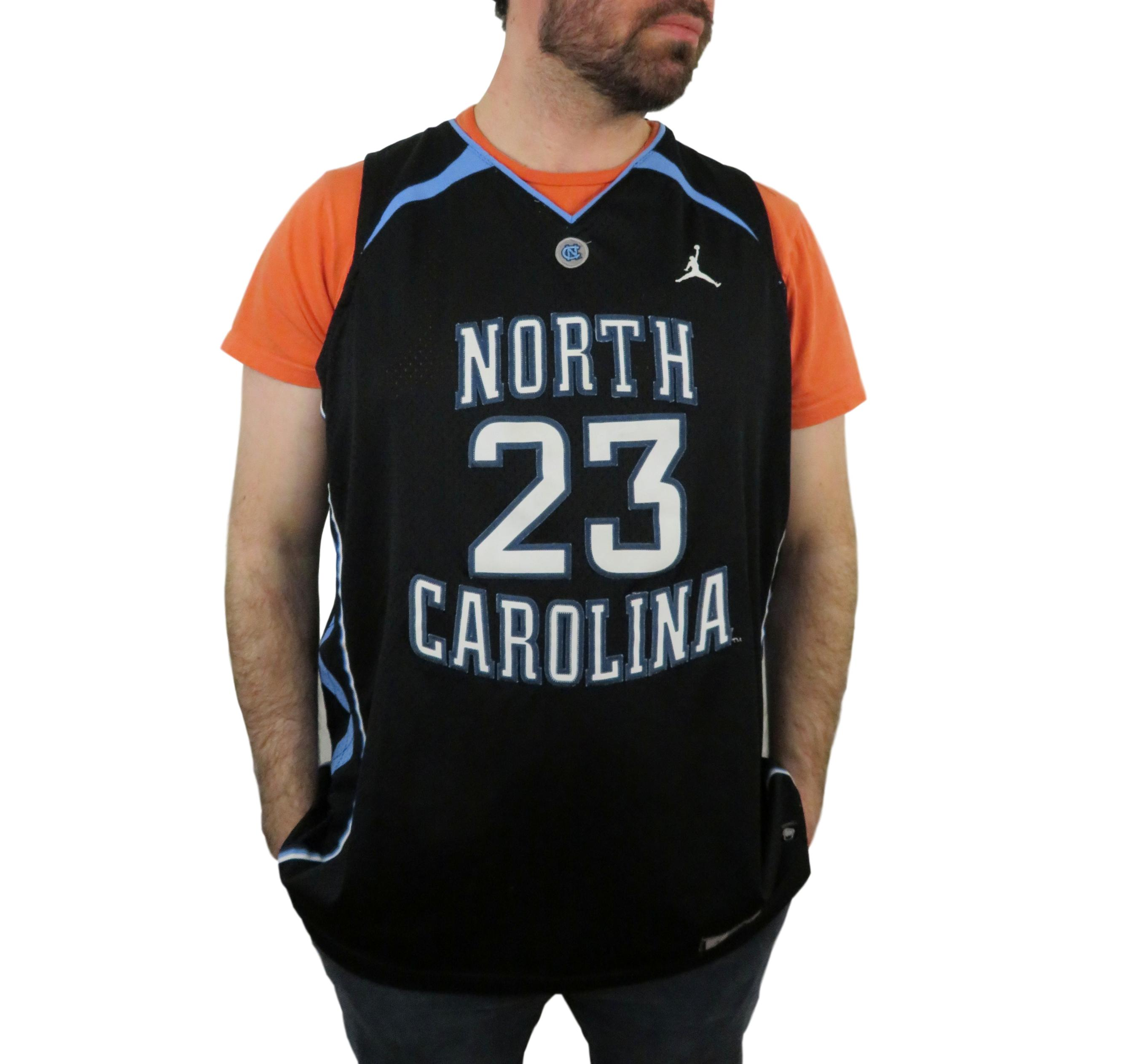 d2e4fef74bd5 Nike × Jordan Brand × Jersey ×. Nike Team Sports Mens North Carolina  Tarheels Michael Jordan Jersey Size XXL College NCAA Black Blue White  23