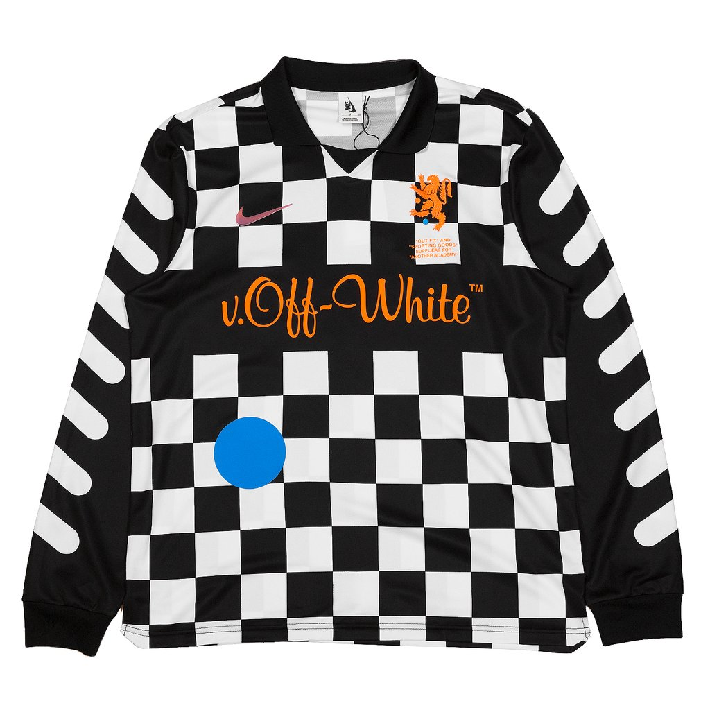 Nike Nike x Off-White Football Away Jersey Checkerboard Size l - Jerseys  for Sale - Grailed 00fc77893